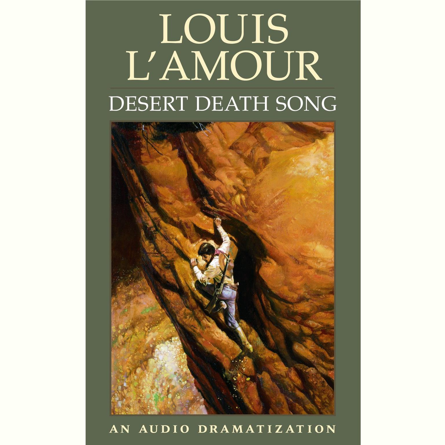 Printable Desert Death Song Audiobook Cover Art