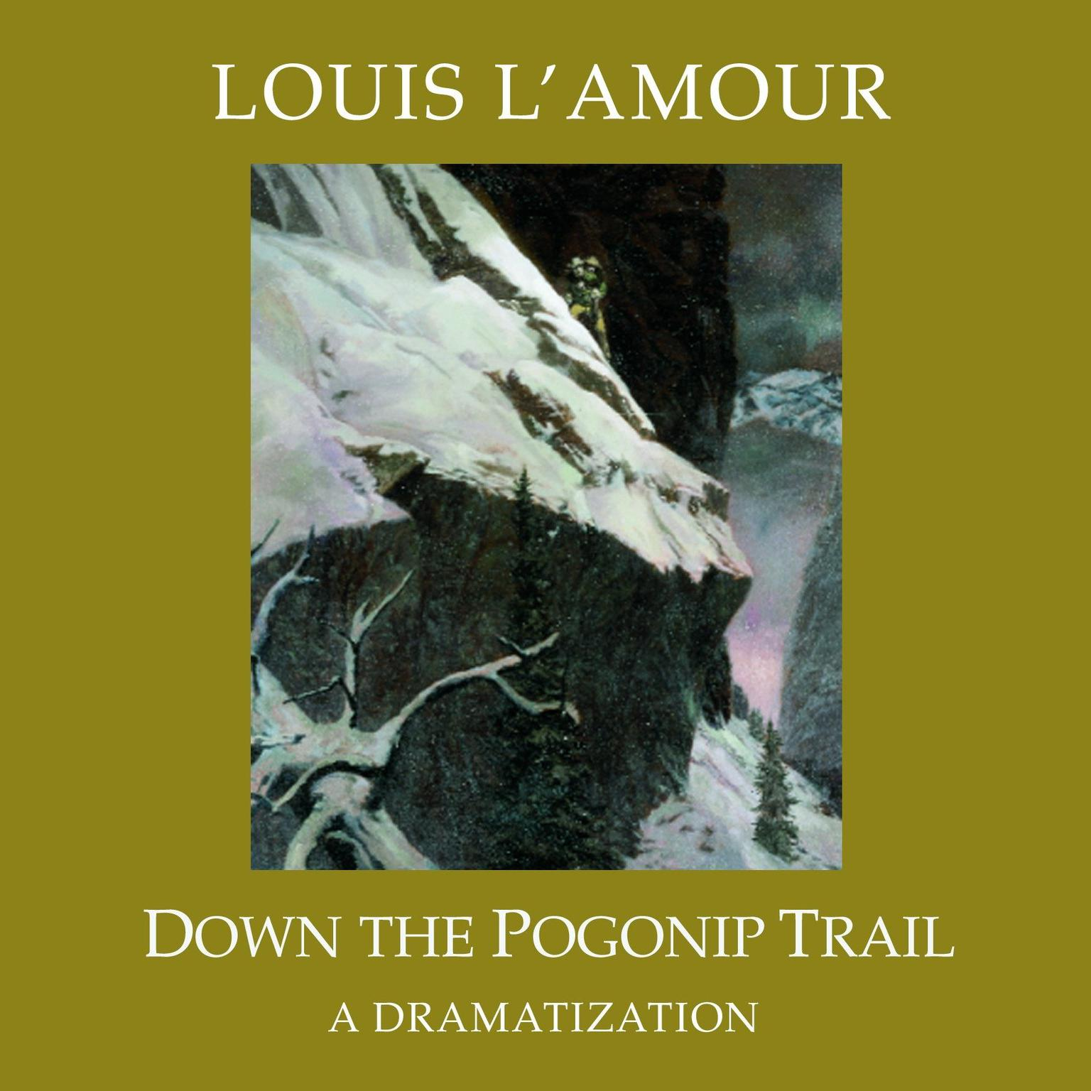 Printable Down the Pogonip Trail Audiobook Cover Art
