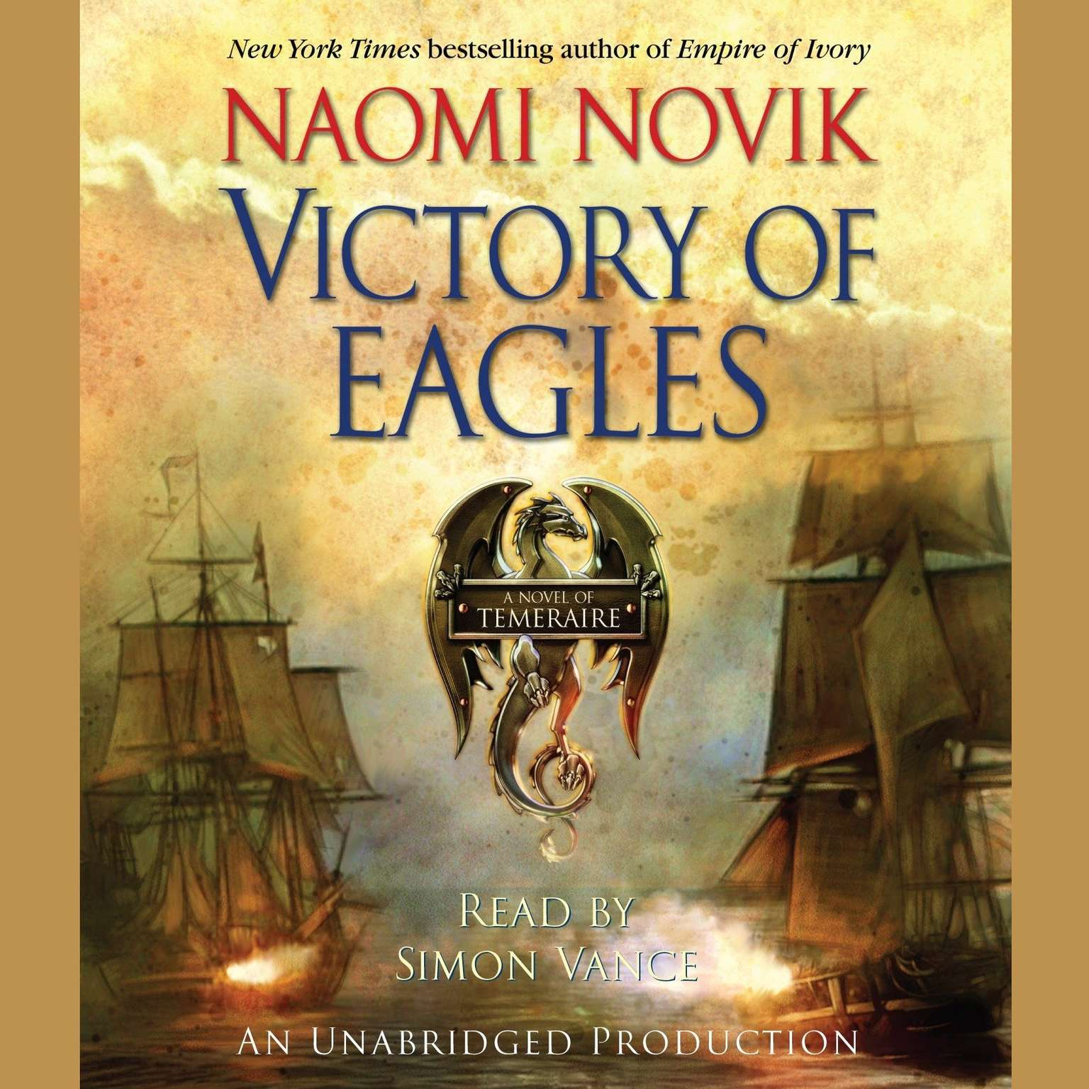 Printable Victory of Eagles Audiobook Cover Art