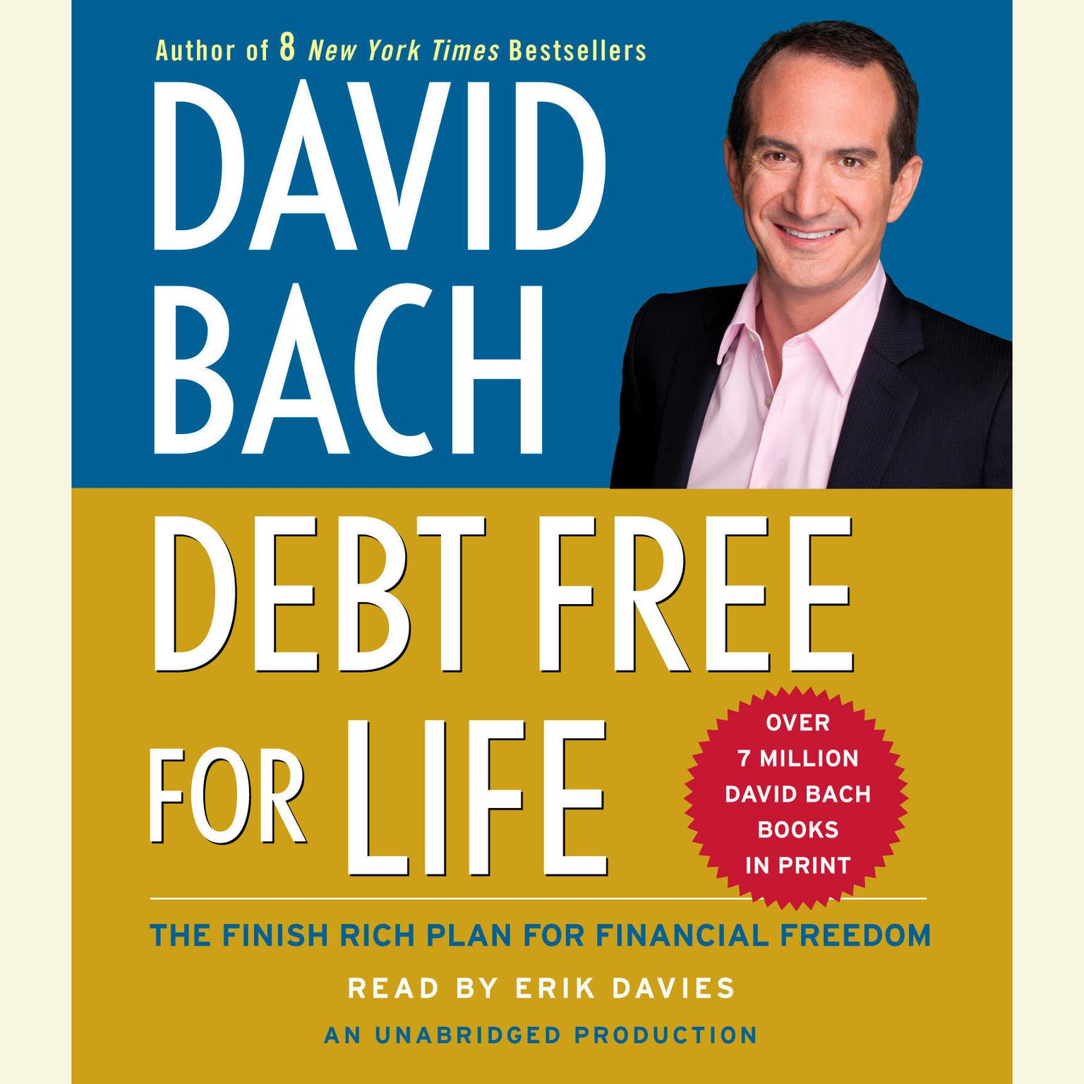 Printable Debt Free For Life: The Finish Rich Plan for Financial Freedom Audiobook Cover Art