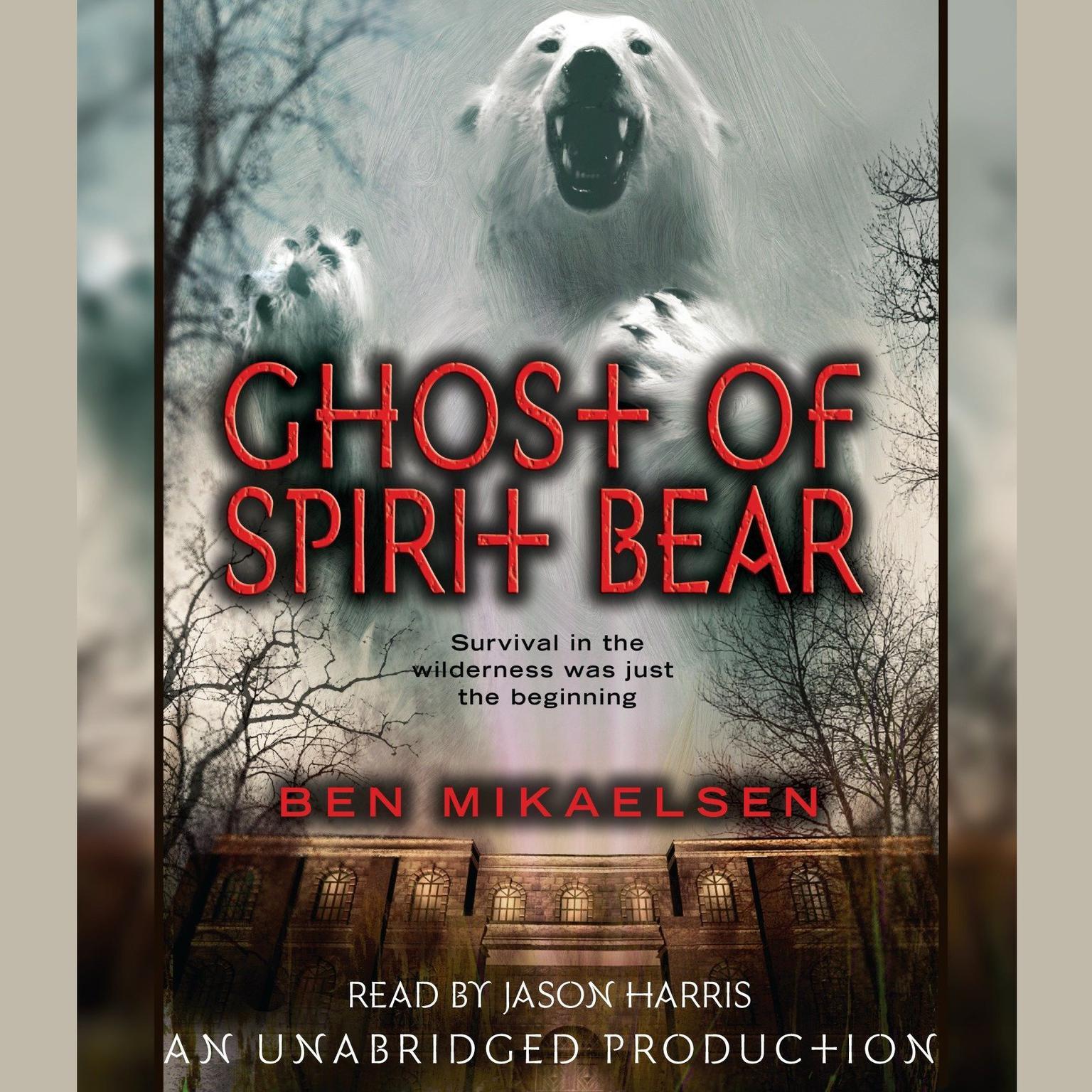 Printable Ghost of Spirit Bear Audiobook Cover Art