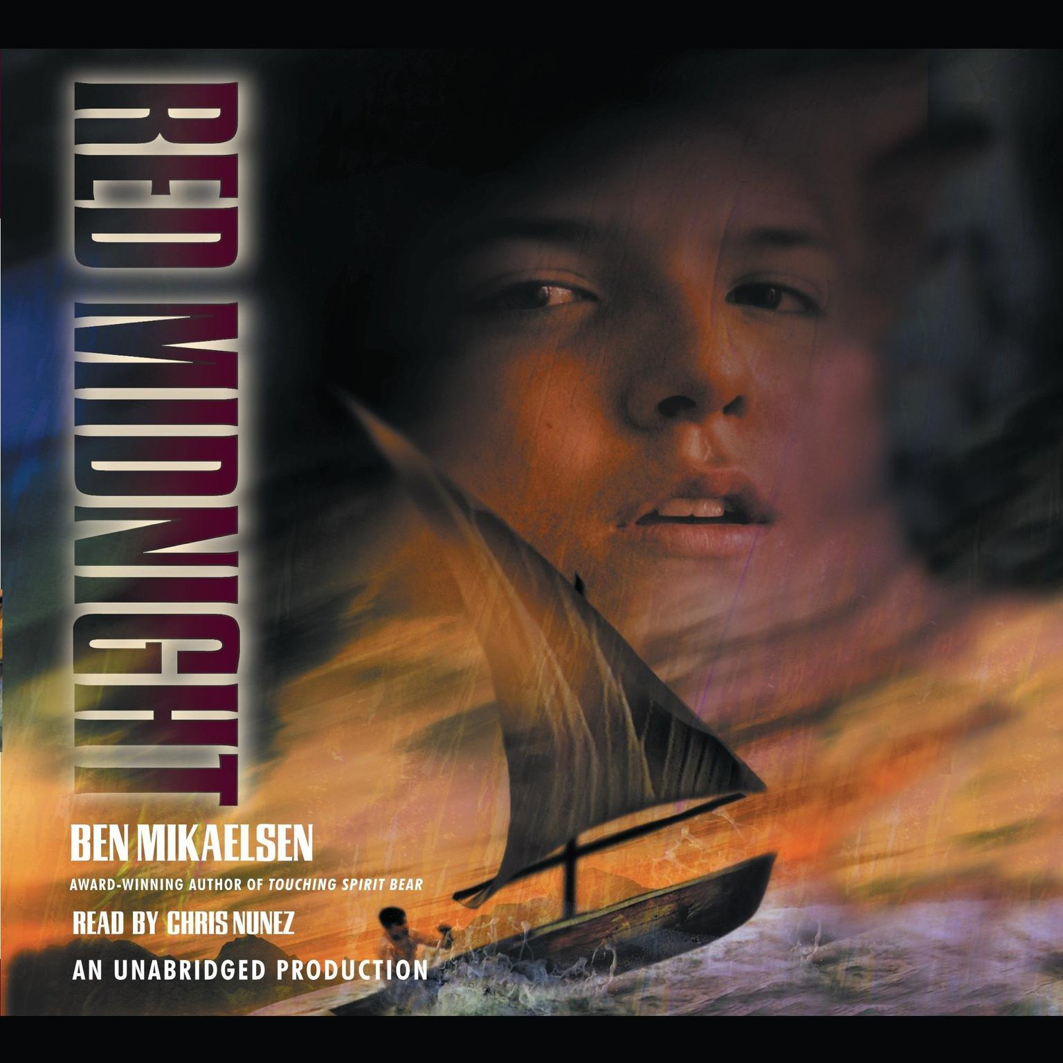 Printable Red Midnight Audiobook Cover Art