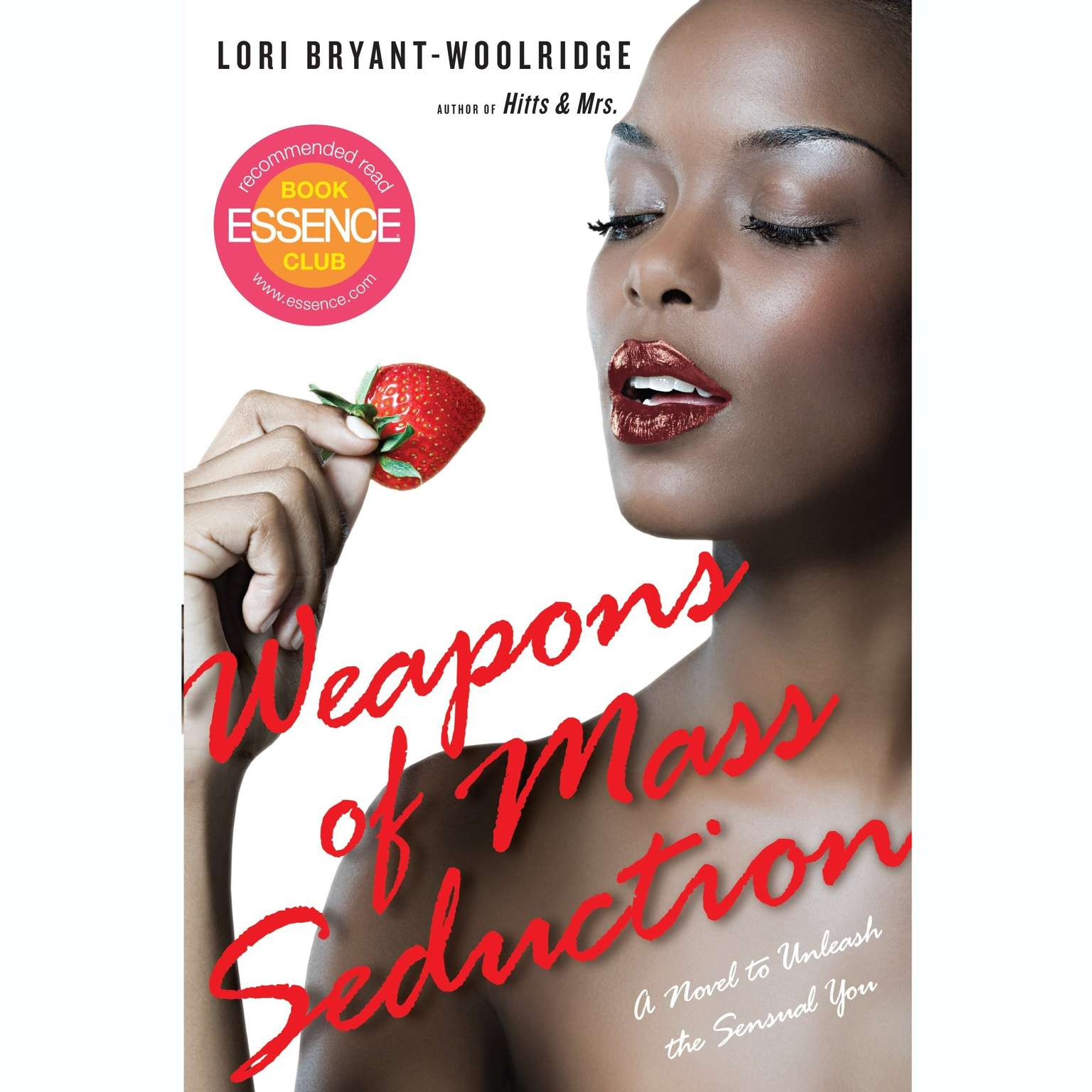 Printable Weapons of Mass Seduction Audiobook Cover Art