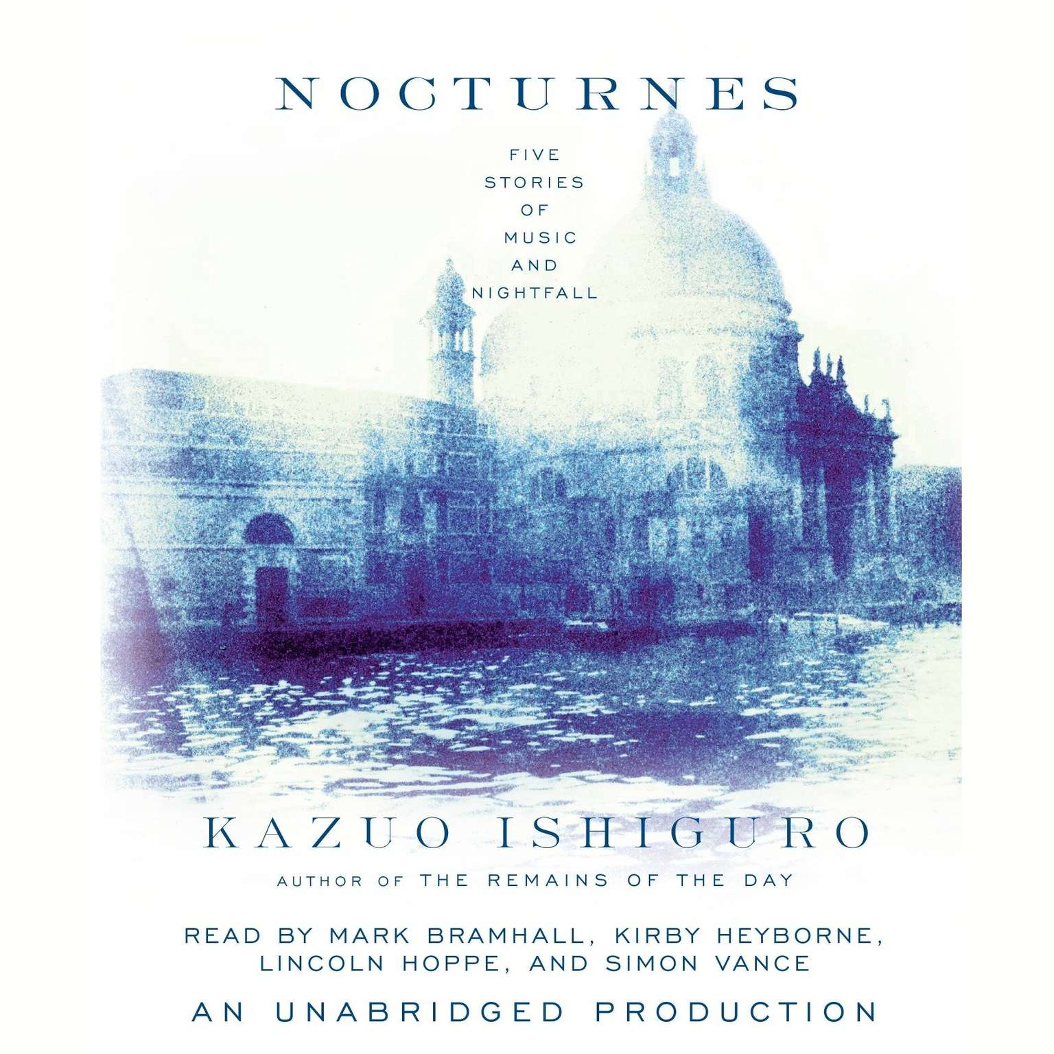 Printable Nocturnes: Five Stories of Music and Nightfall Audiobook Cover Art