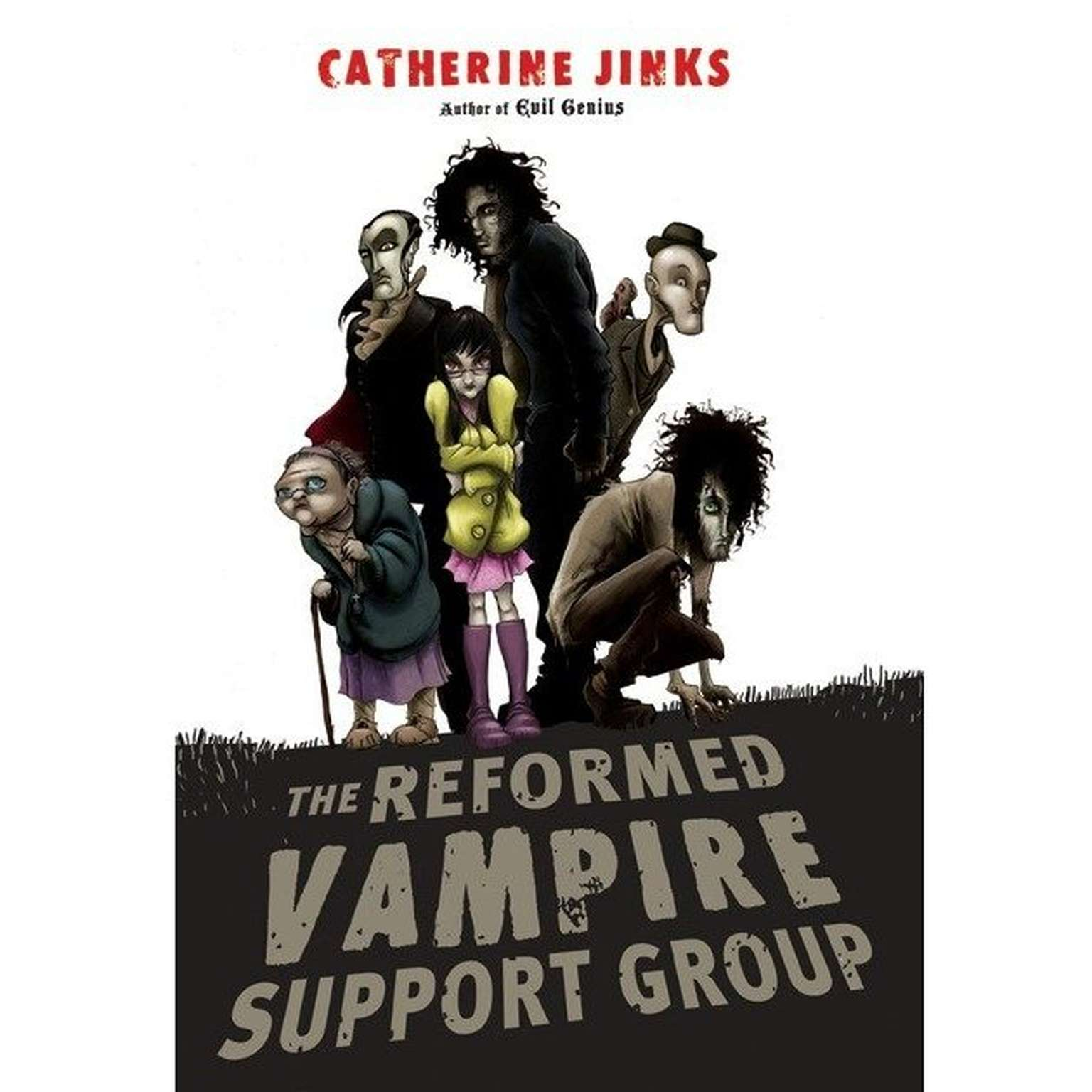 Printable The Reformed Vampire Support Group Audiobook Cover Art