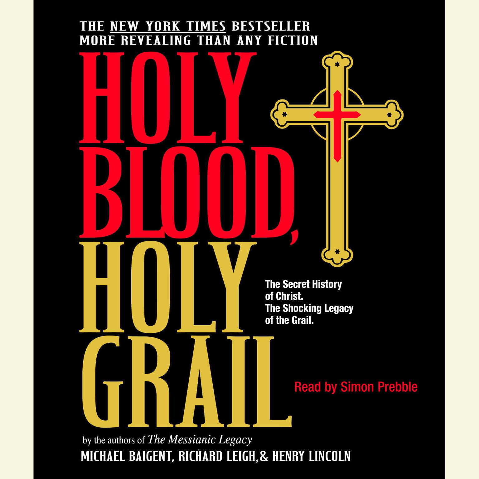 Printable Holy Blood, Holy Grail Audiobook Cover Art