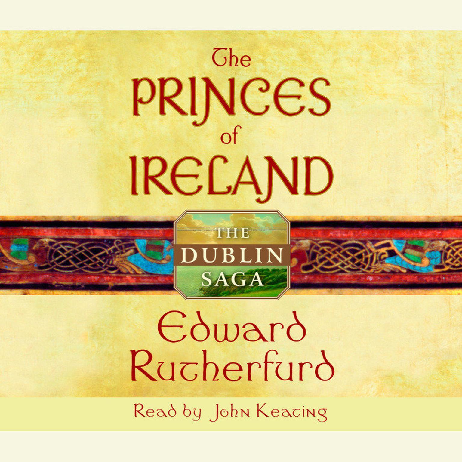 Printable The Princes of Ireland: The Dublin Saga Audiobook Cover Art