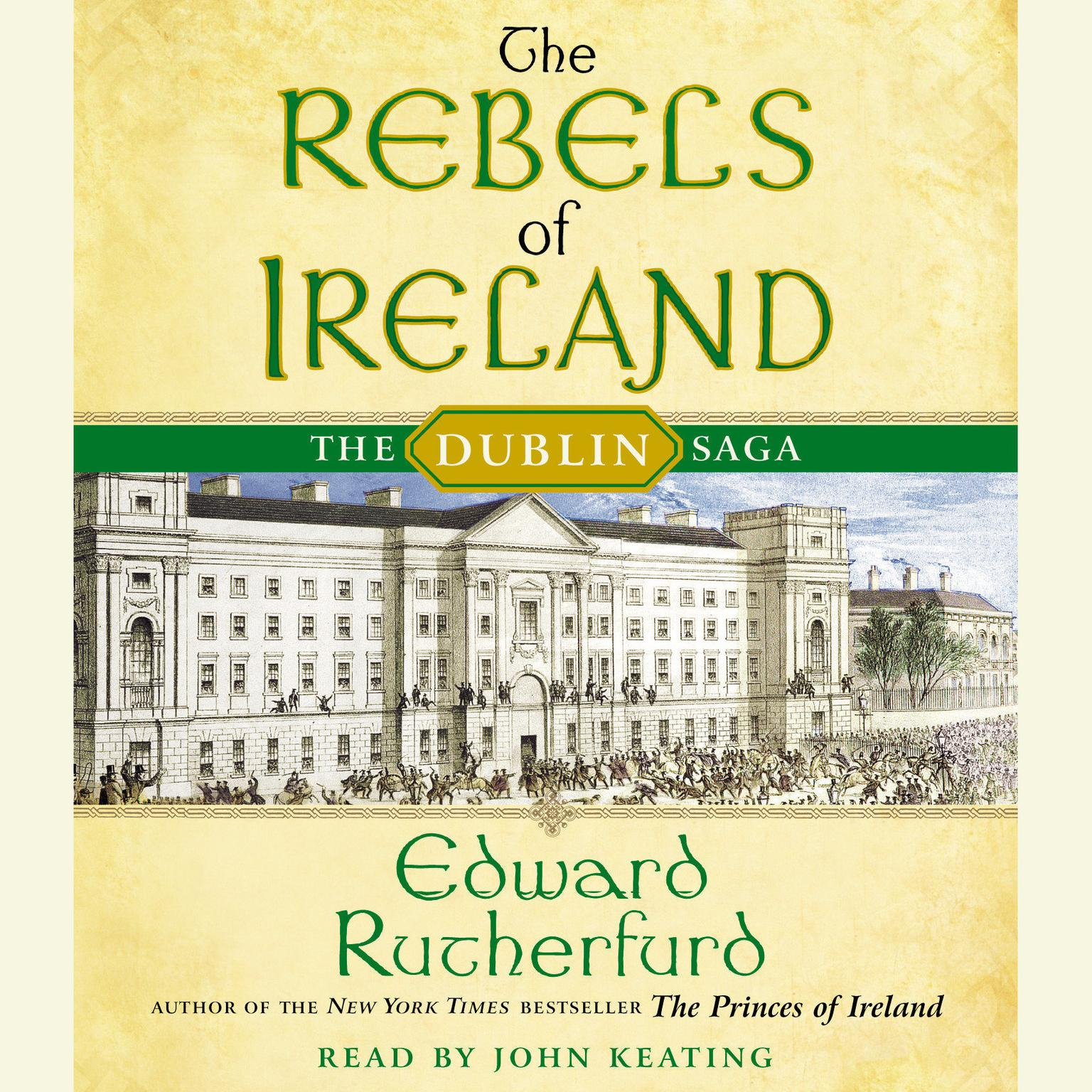 Printable The Rebels of Ireland: The Dublin Saga Audiobook Cover Art