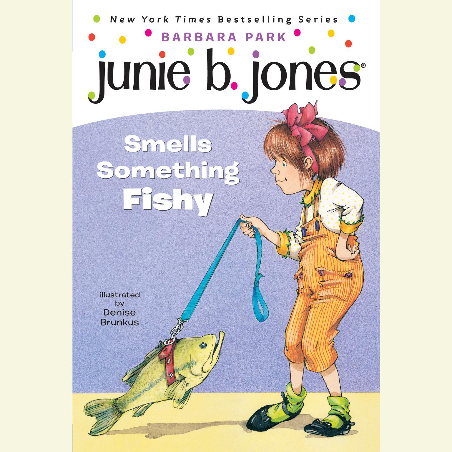 Printable Junie B. Jones Smells Something Fishy Audiobook Cover Art
