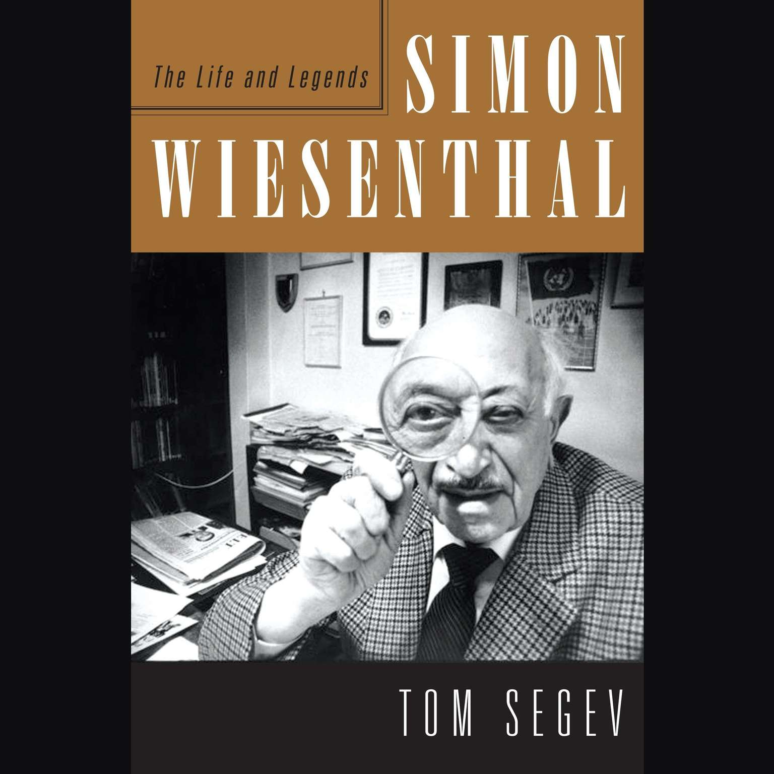 Printable Simon Wiesenthal: The Life and Legends Audiobook Cover Art
