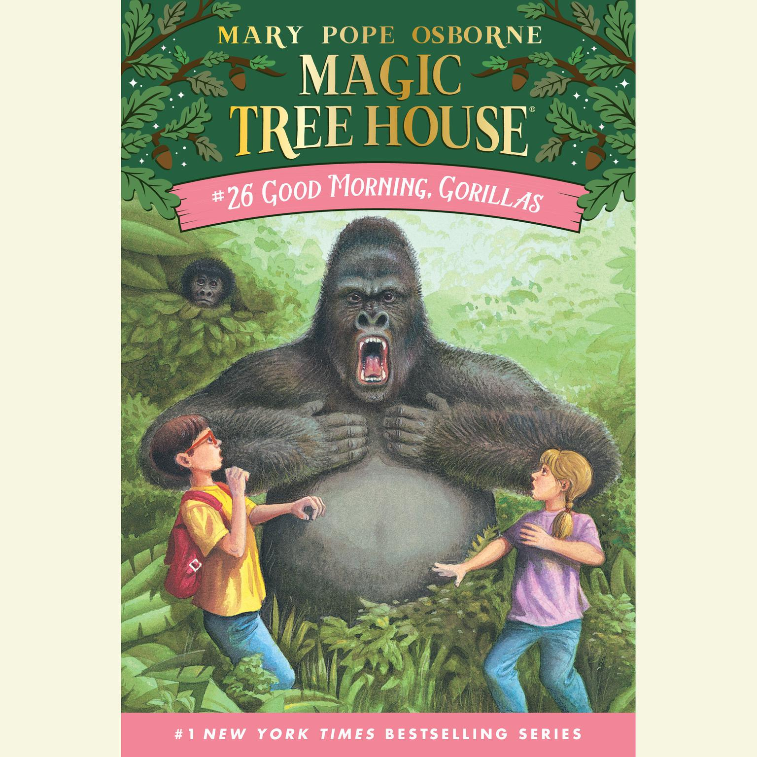Printable Good Morning, Gorillas Audiobook Cover Art