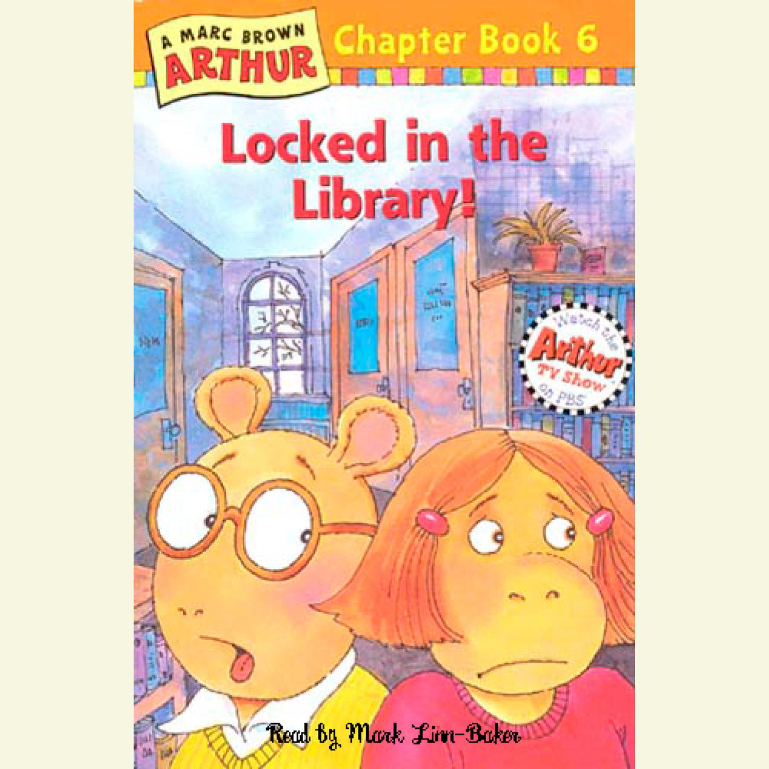Printable Arthur Locked in the Library Audiobook Cover Art