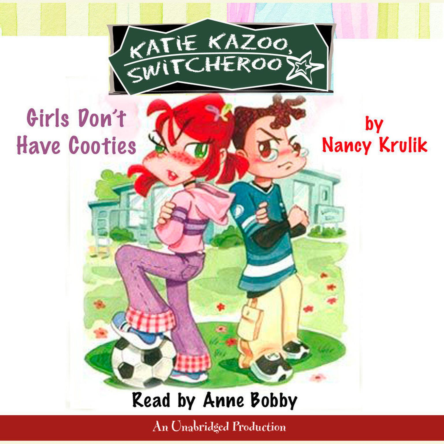 Printable Katie Kazoo, Switcheroo #4: Girls Don't Have Cooties Audiobook Cover Art