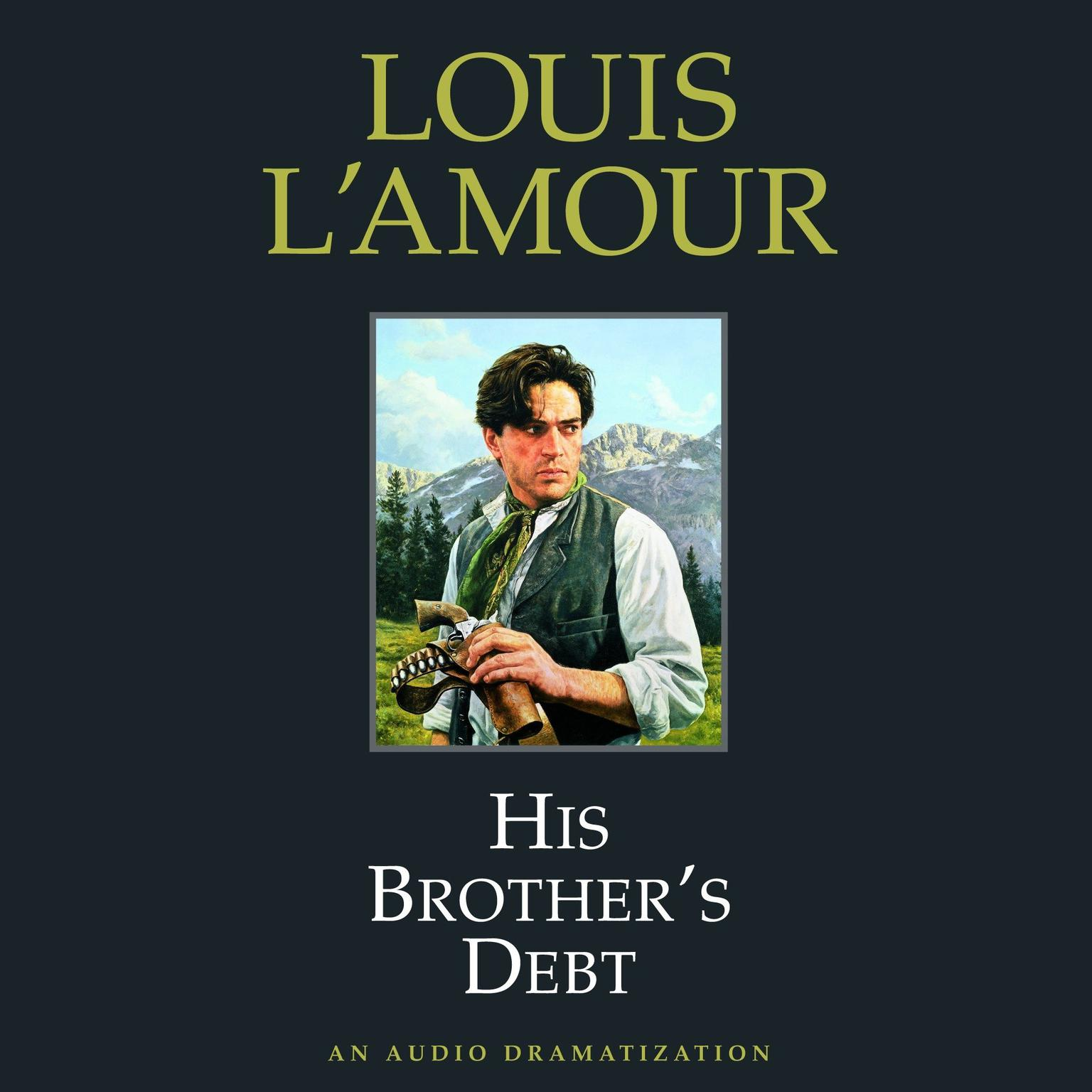 Printable His Brother's Debt Audiobook Cover Art