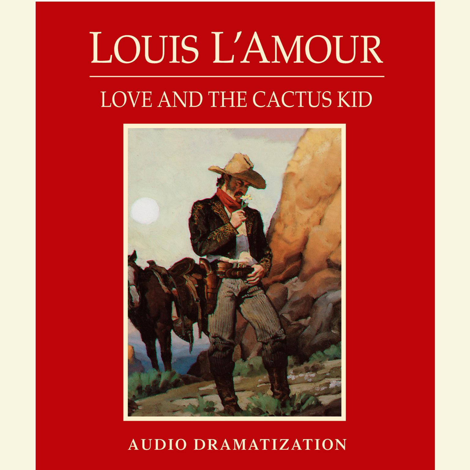 Printable Love and the Cactus Kid Audiobook Cover Art