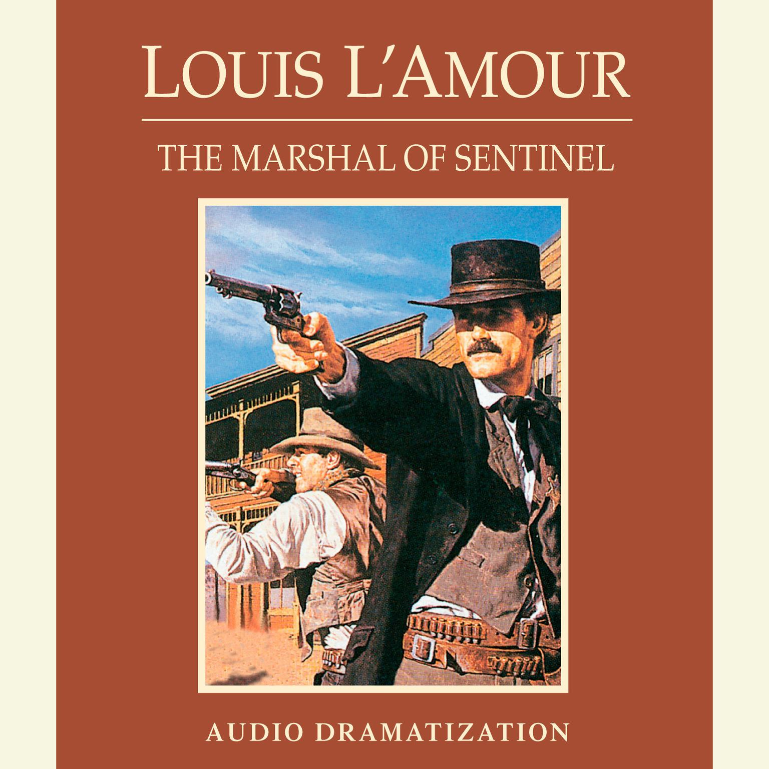 Printable The Marshal of Sentinel Audiobook Cover Art