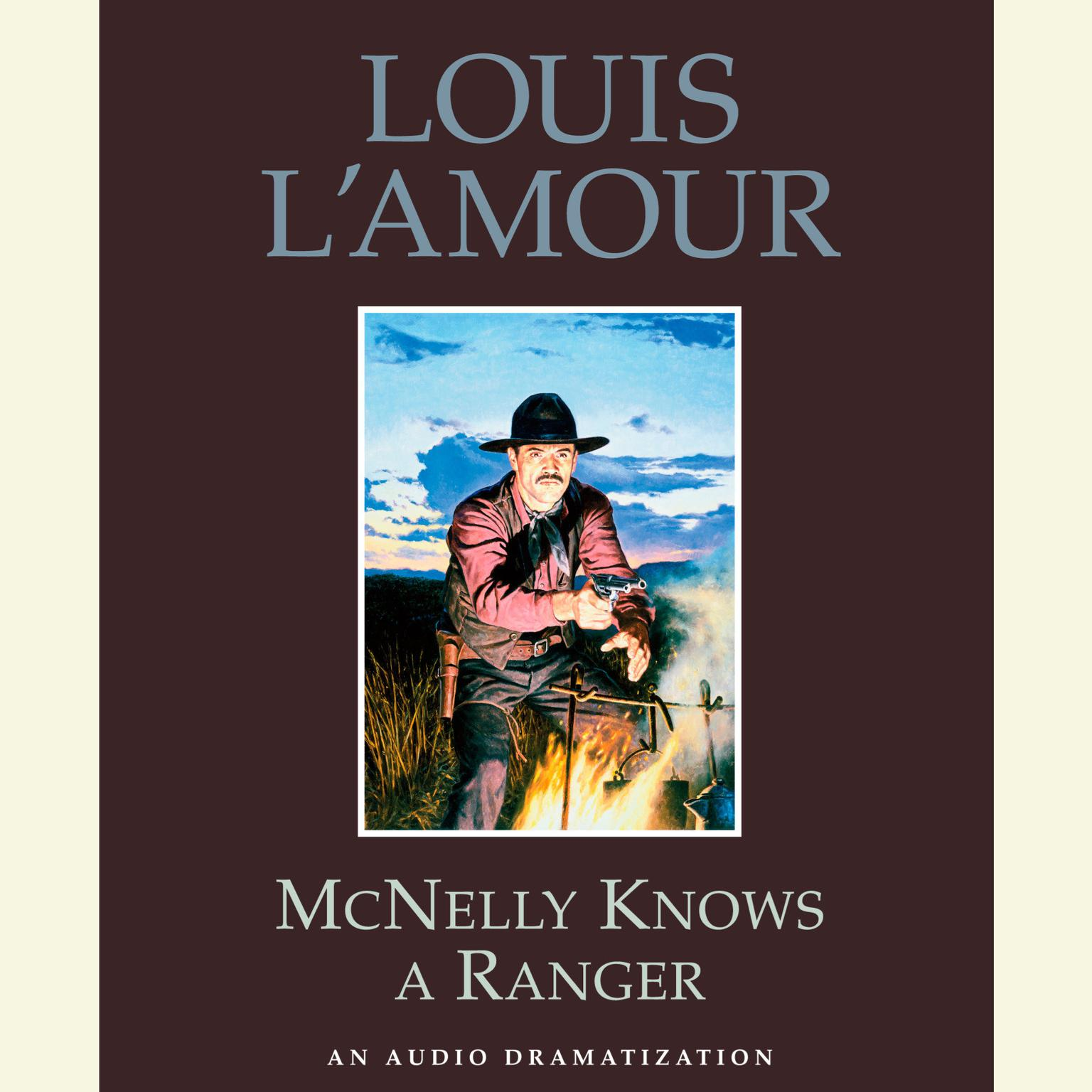 Printable McNelly Knows a Ranger Audiobook Cover Art