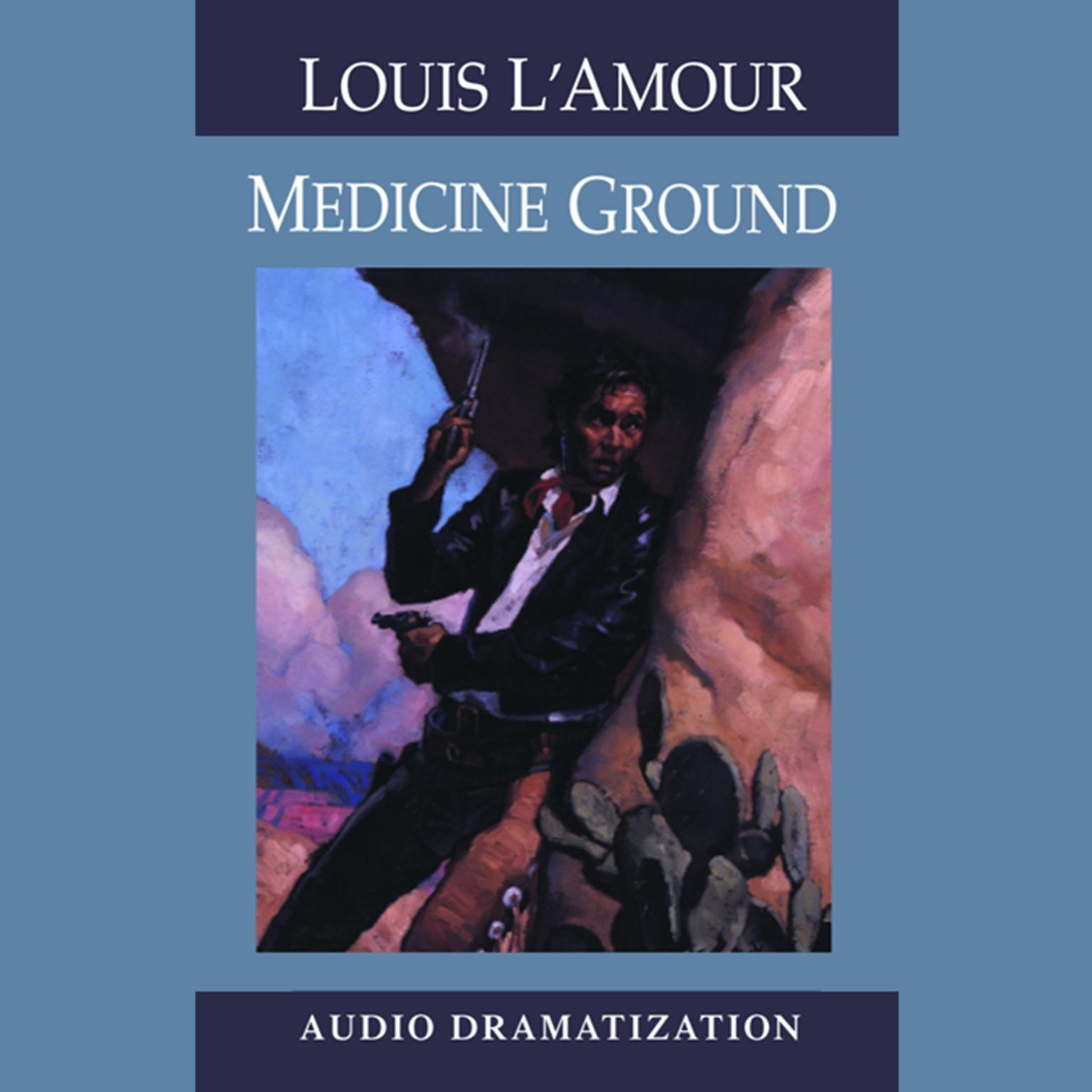 Printable Medicine Ground Audiobook Cover Art