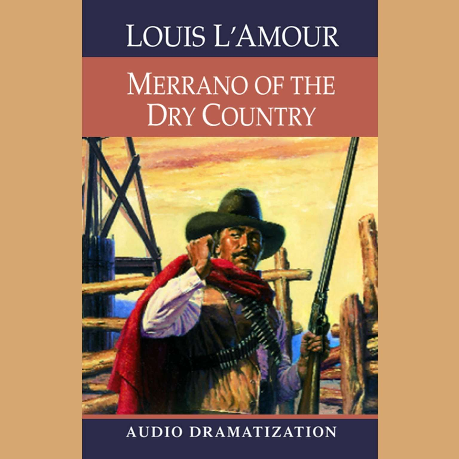 Printable Merrano of the Dry Country Audiobook Cover Art
