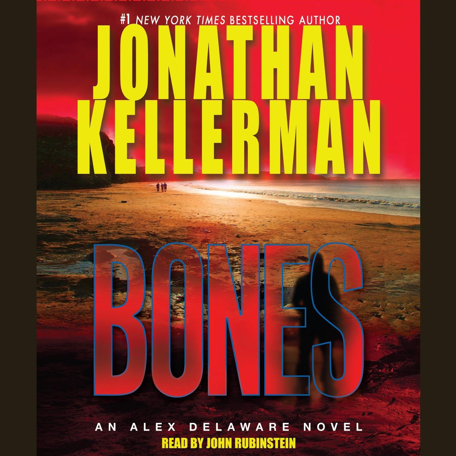 Printable Bones: An Alex Delaware Novel Audiobook Cover Art