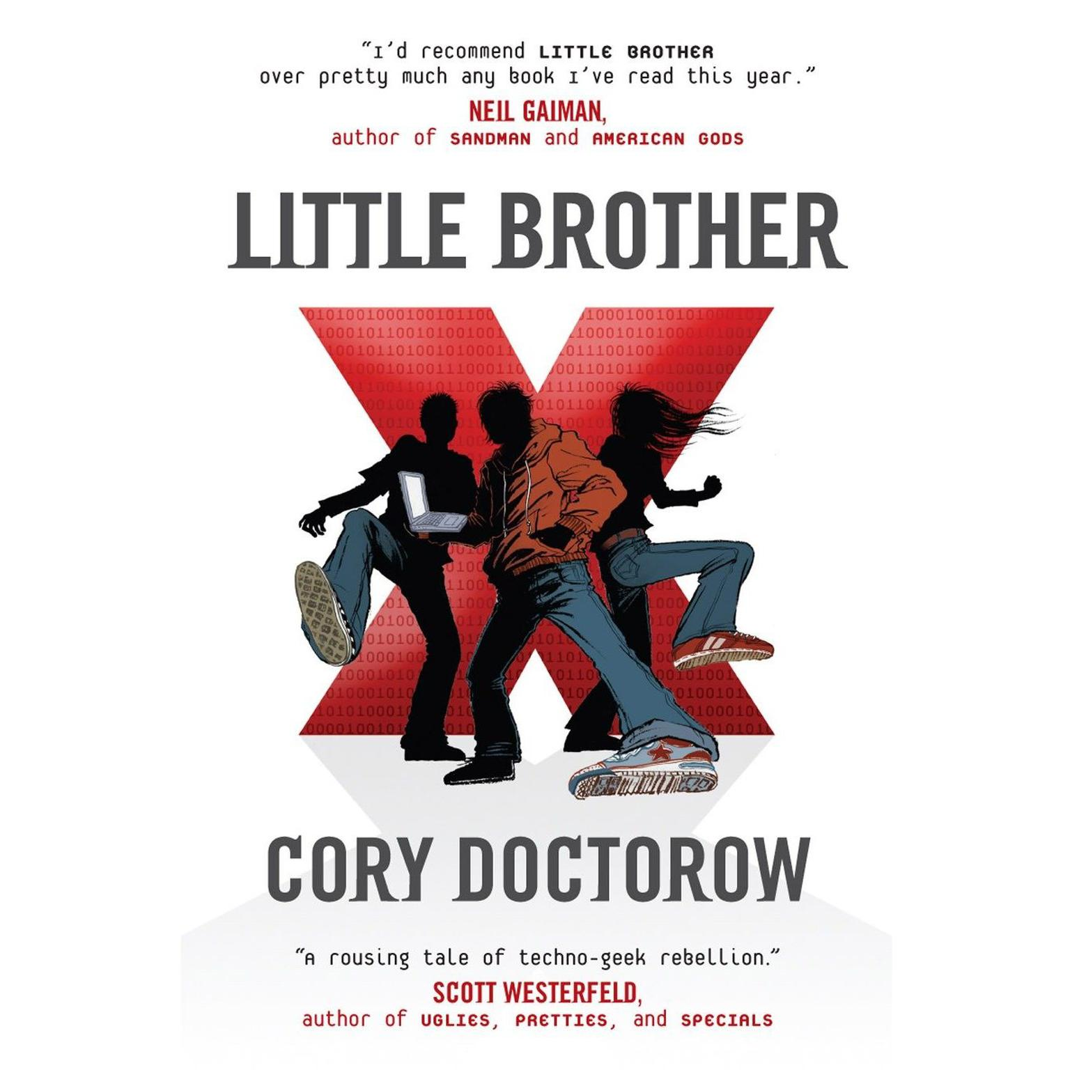 Printable Little Brother Audiobook Cover Art