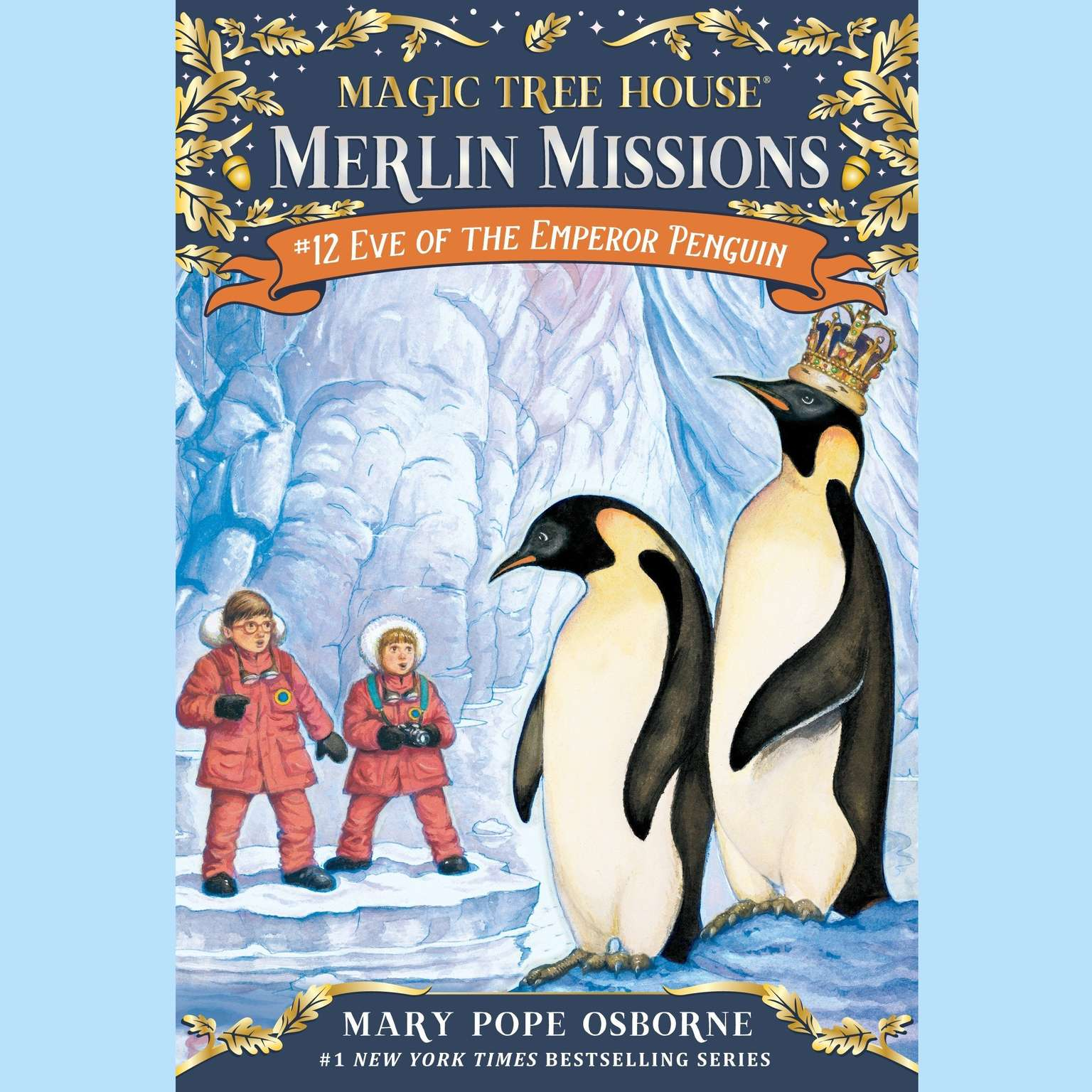 Printable Eve of the Emperor Penguin Audiobook Cover Art