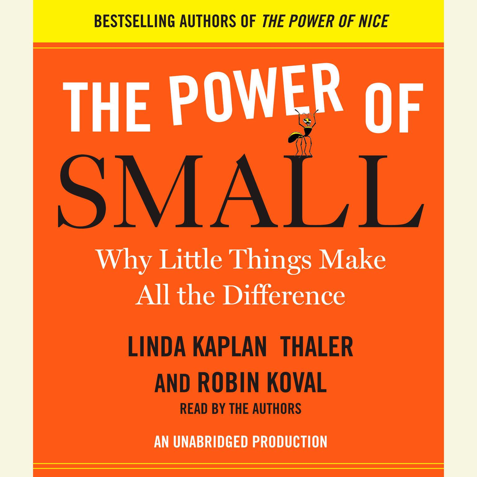Printable The Power of Small: Why Little Things Make All the Difference Audiobook Cover Art