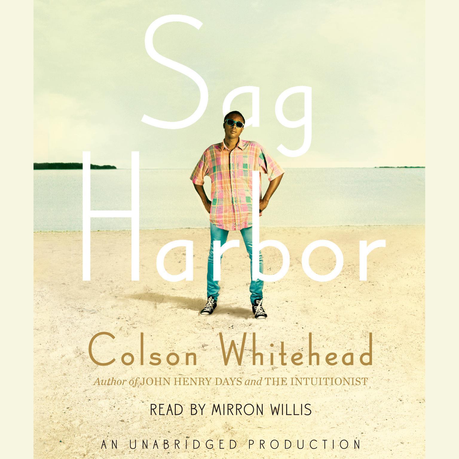 Printable Sag Harbor: A Novel Audiobook Cover Art