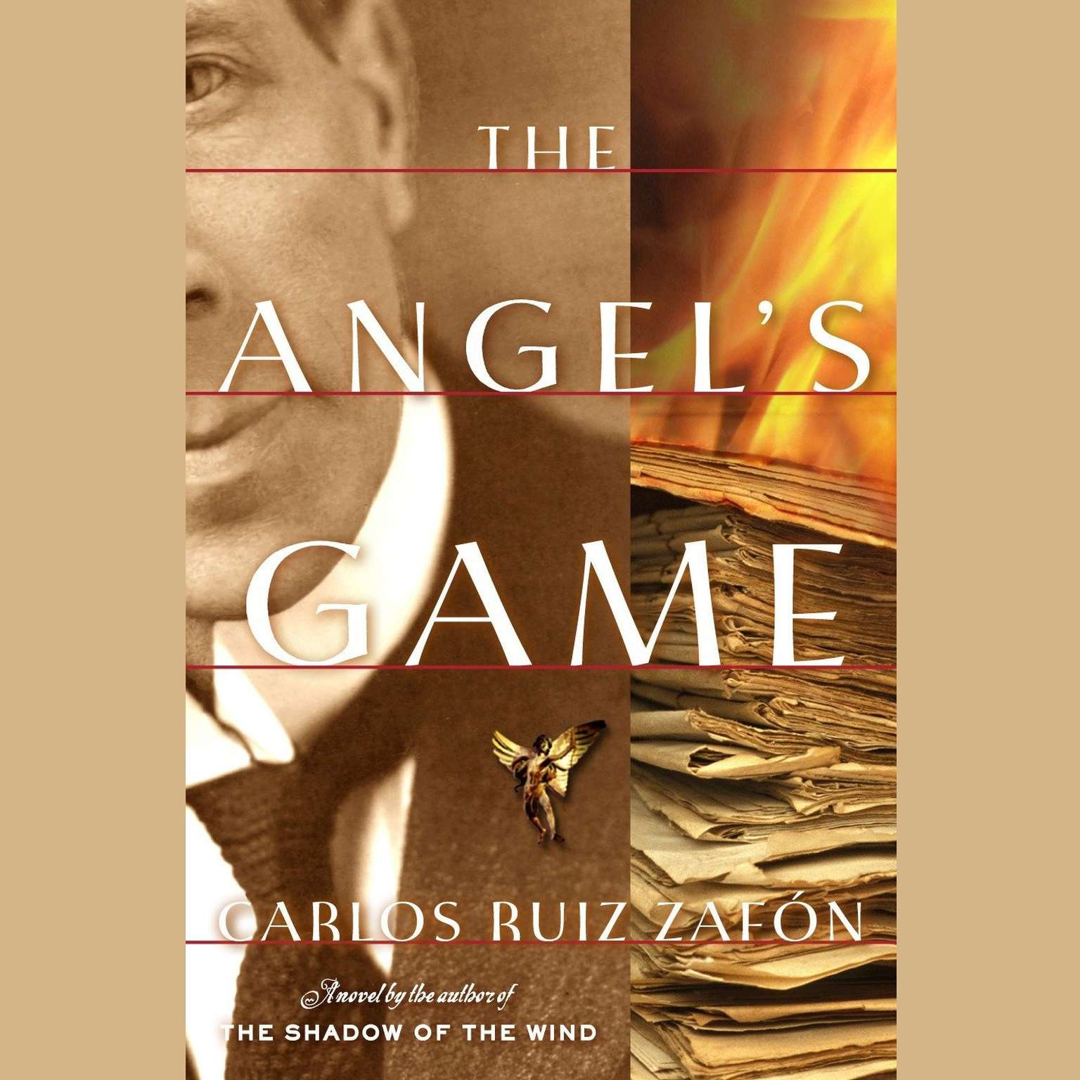Printable The Angel's Game Audiobook Cover Art