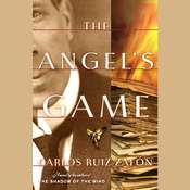 The Angels Game Audiobook, by Carlos Ruiz Zafón