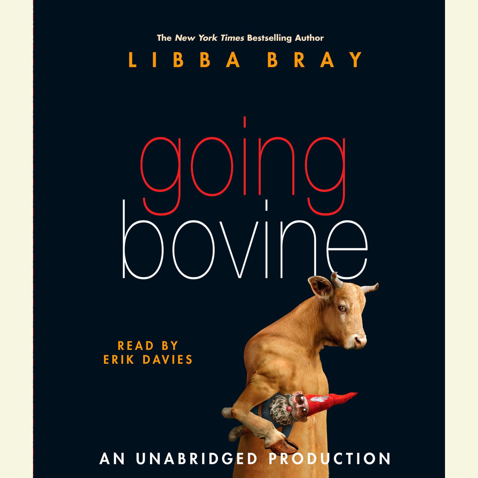 Printable Going Bovine Audiobook Cover Art