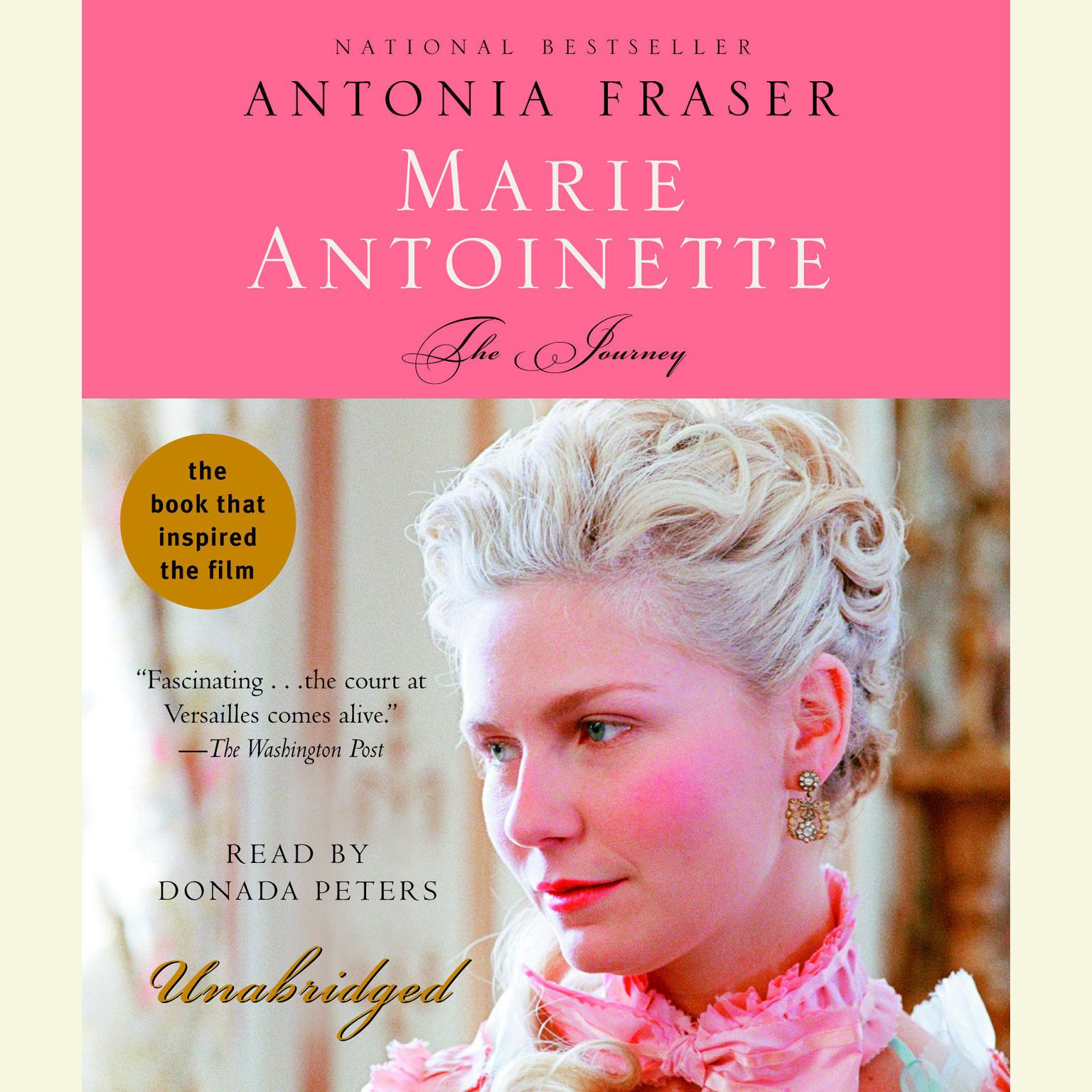 Printable Marie Antoinette: The Journey Audiobook Cover Art