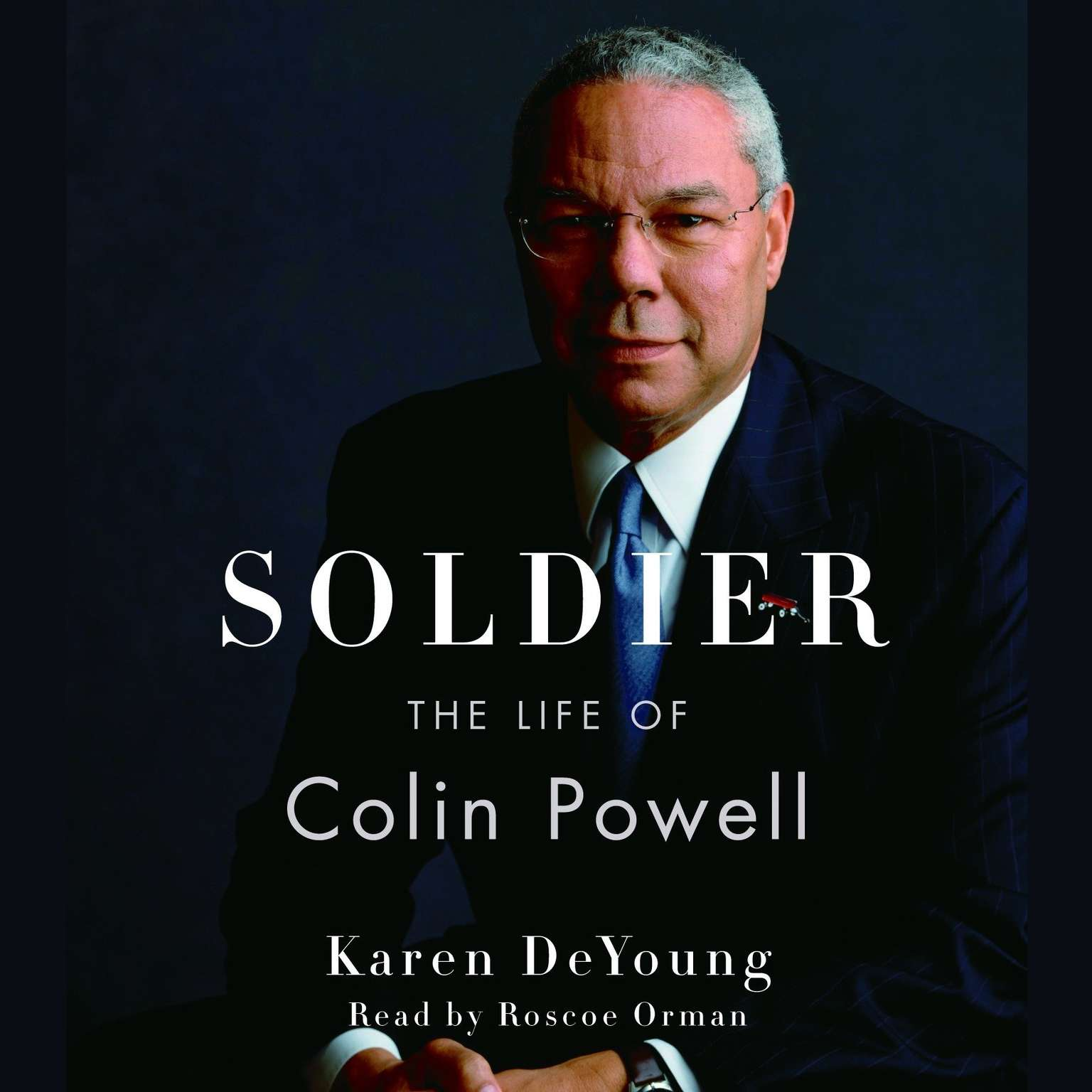 Printable Soldier: The Life of Colin Powell Audiobook Cover Art