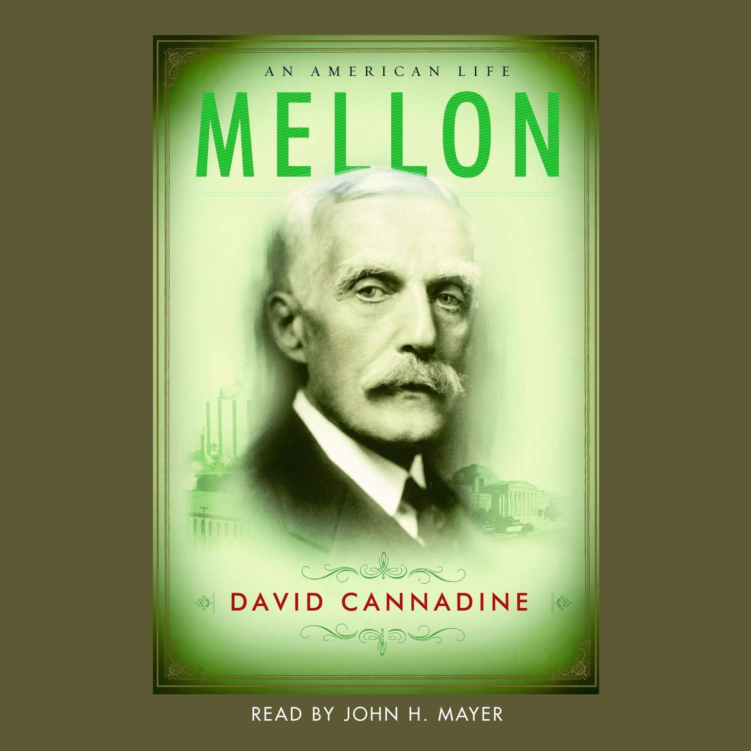 Printable Mellon: An American Life Audiobook Cover Art