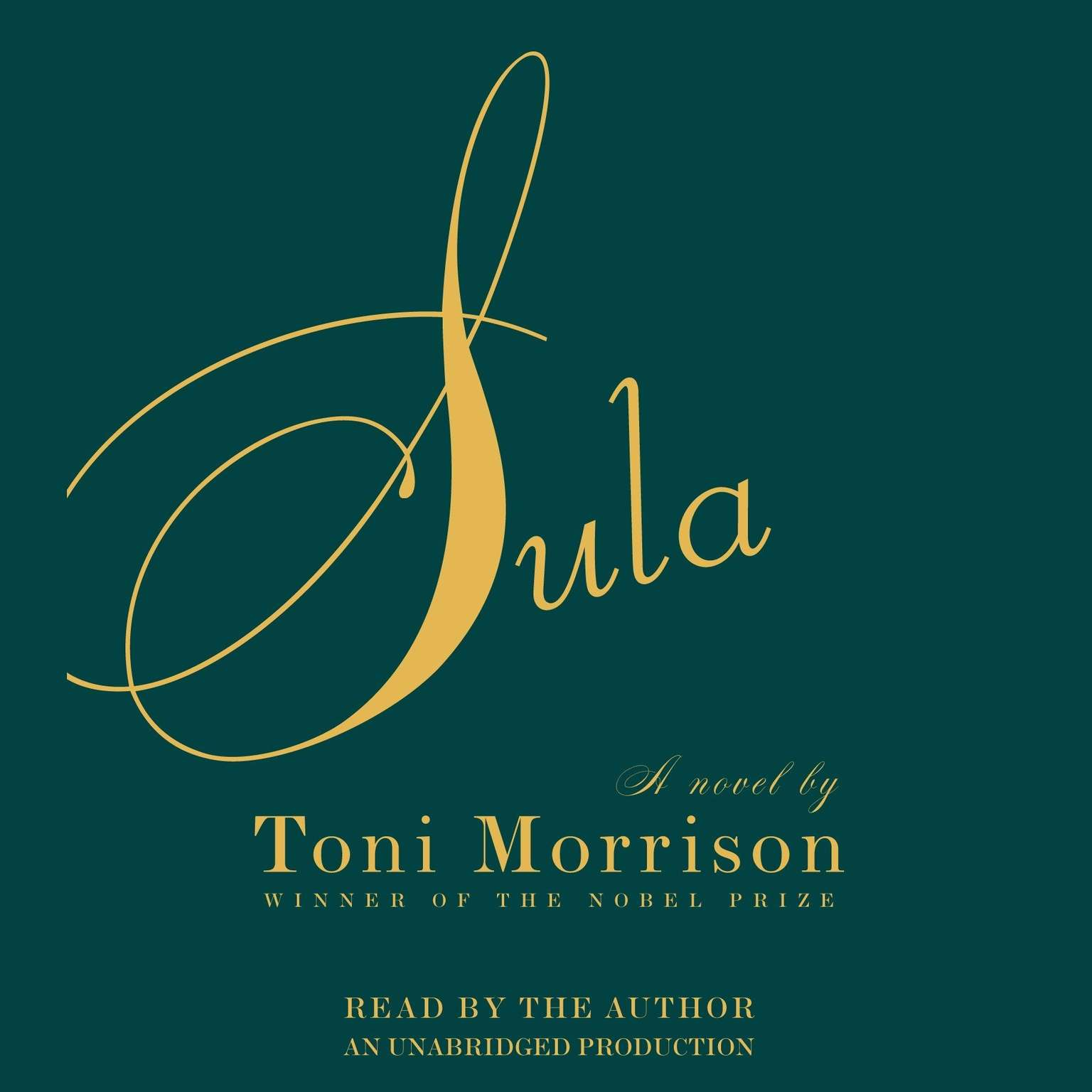 Printable Sula Audiobook Cover Art