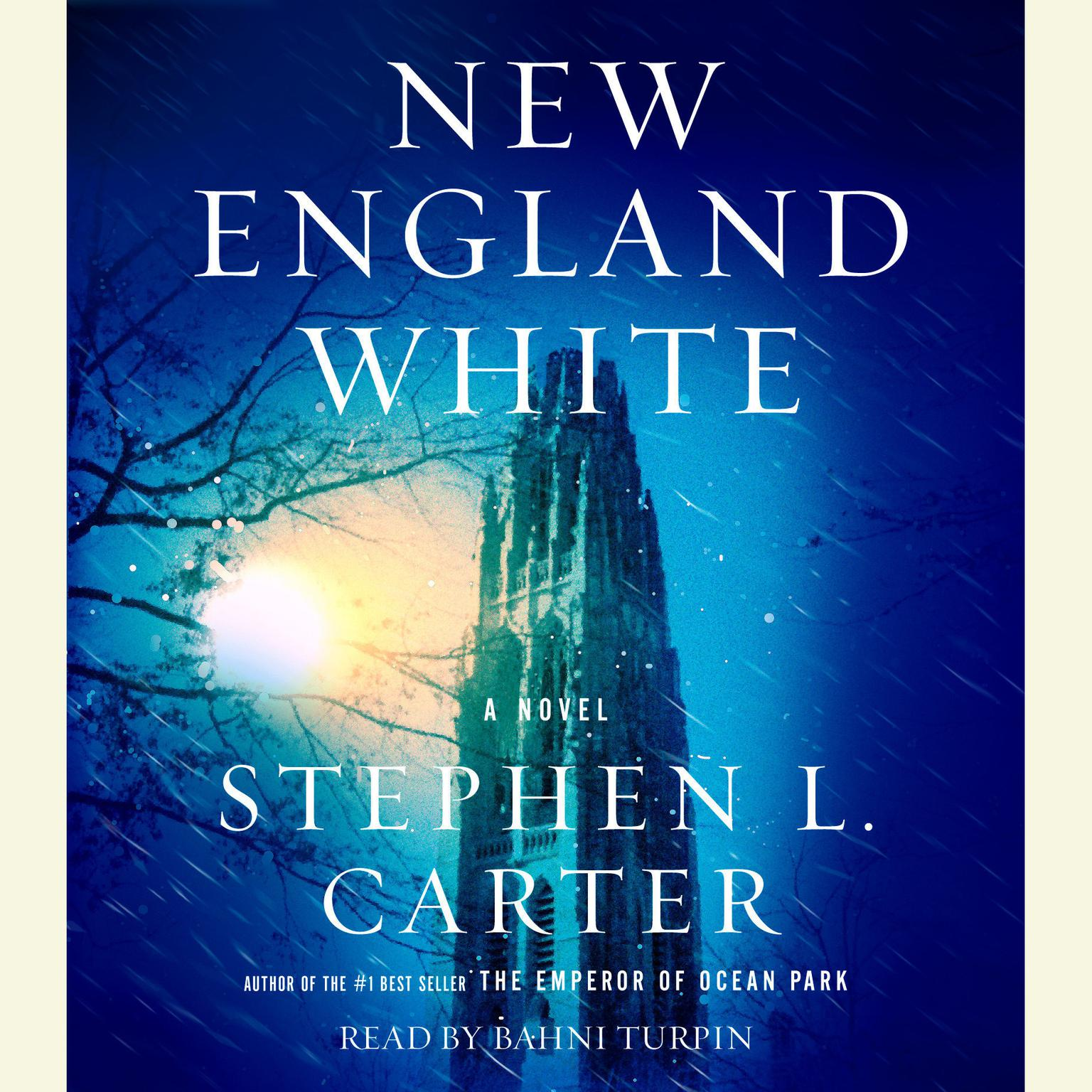 Printable New England White Audiobook Cover Art