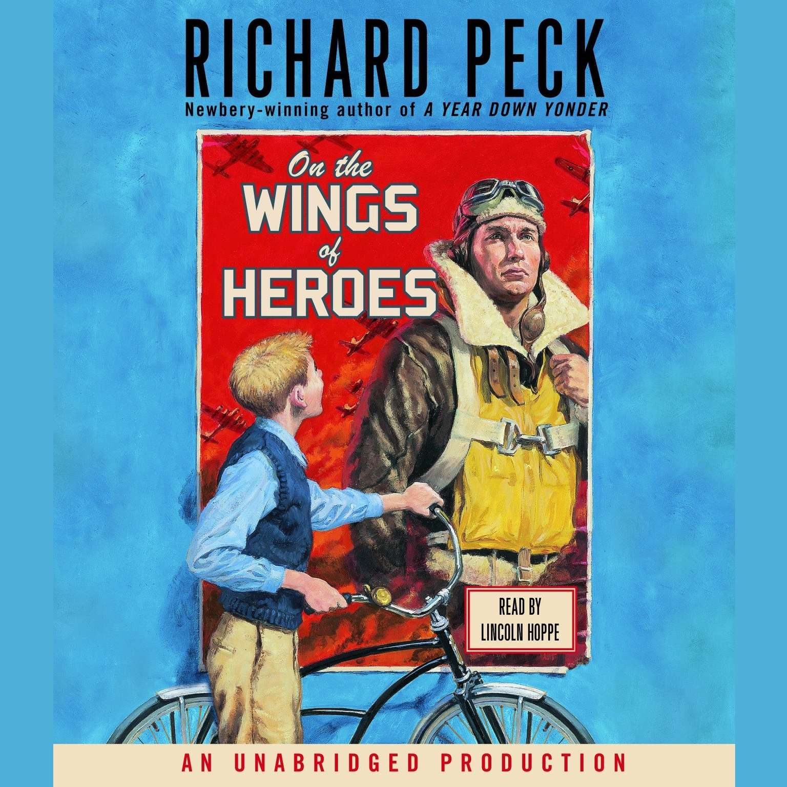 Printable On the Wings of Heroes Audiobook Cover Art