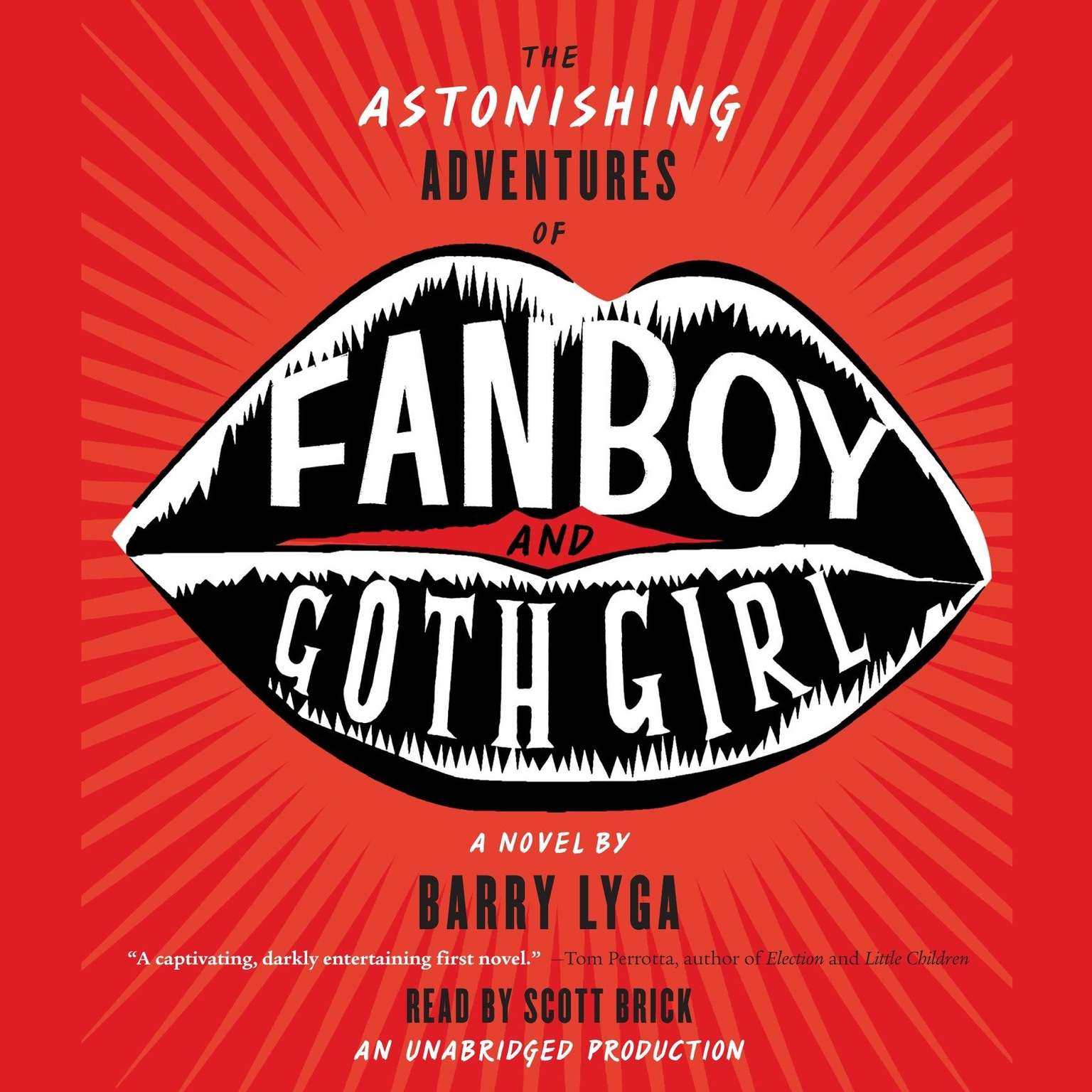 Printable The Astonishing Adventures of Fanboy and Goth Girl Audiobook Cover Art