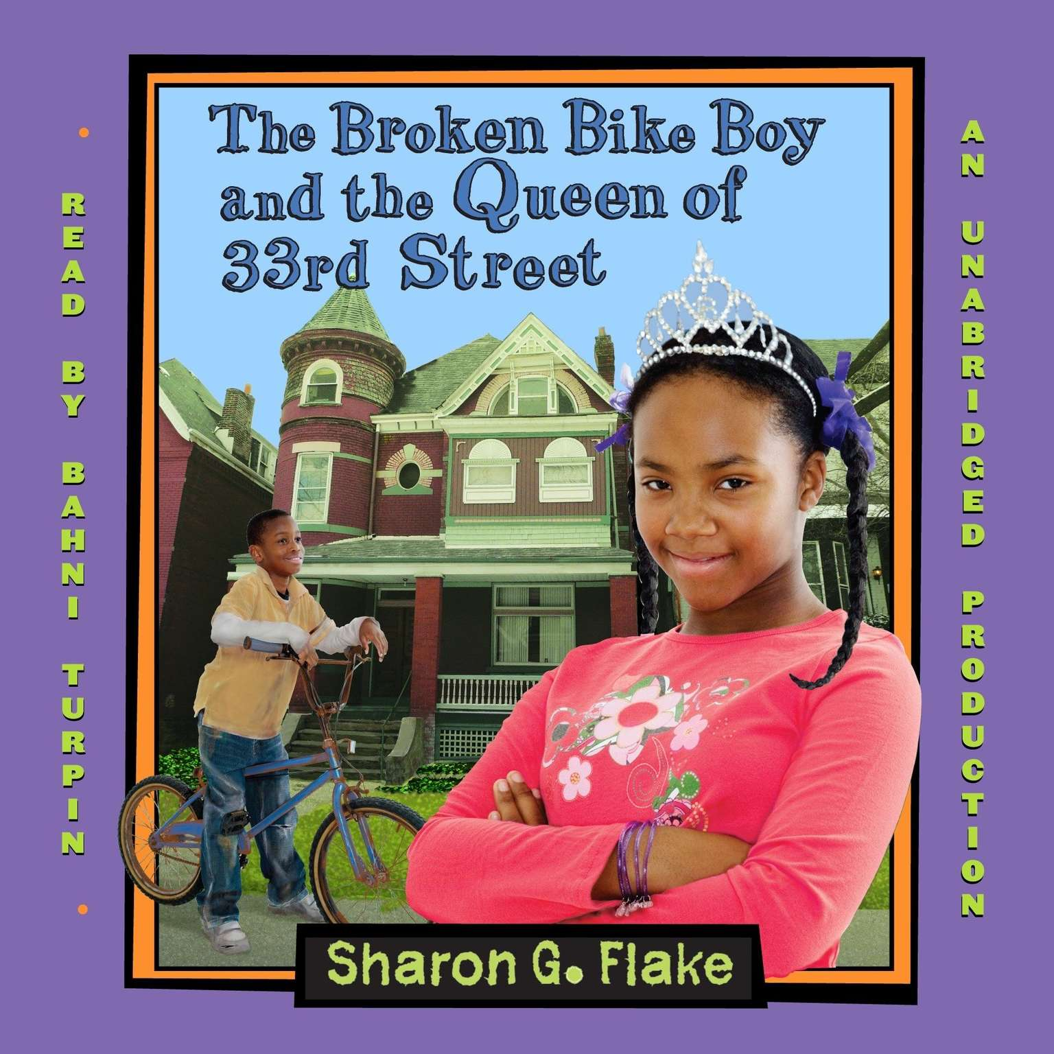 Printable The Broken Bike Boy and the Queen of 33rd Street Audiobook Cover Art