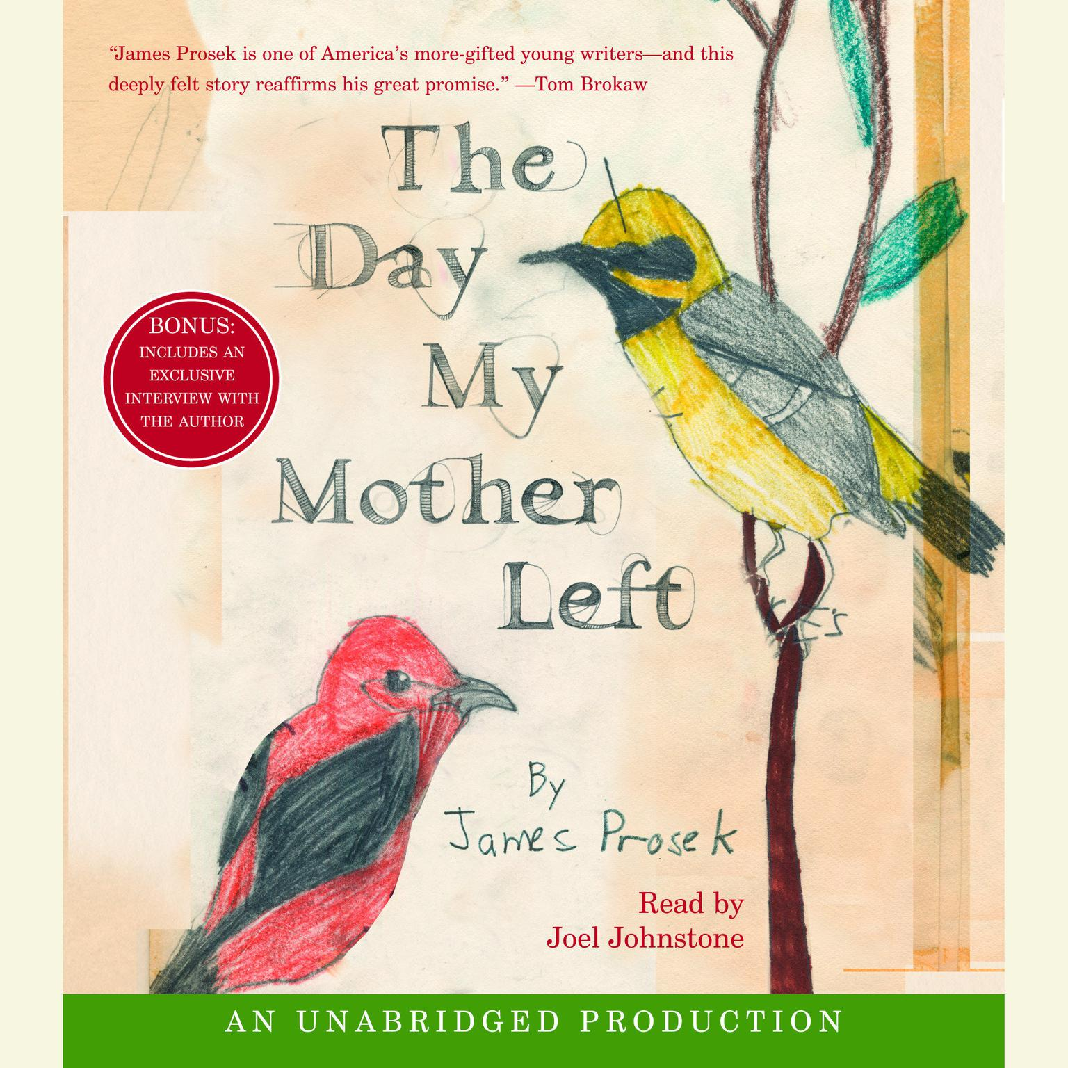 Printable The Day My Mother Left Audiobook Cover Art
