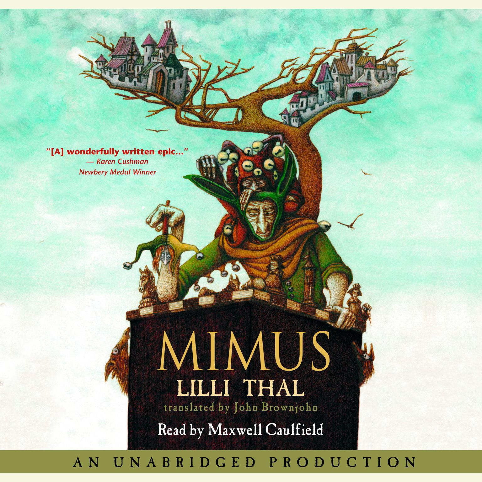 Printable Mimus Audiobook Cover Art