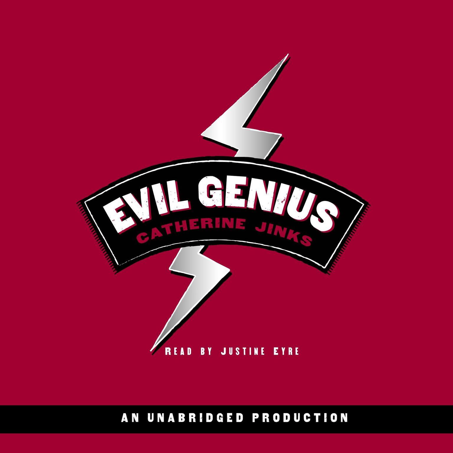 Printable Evil Genius Audiobook Cover Art