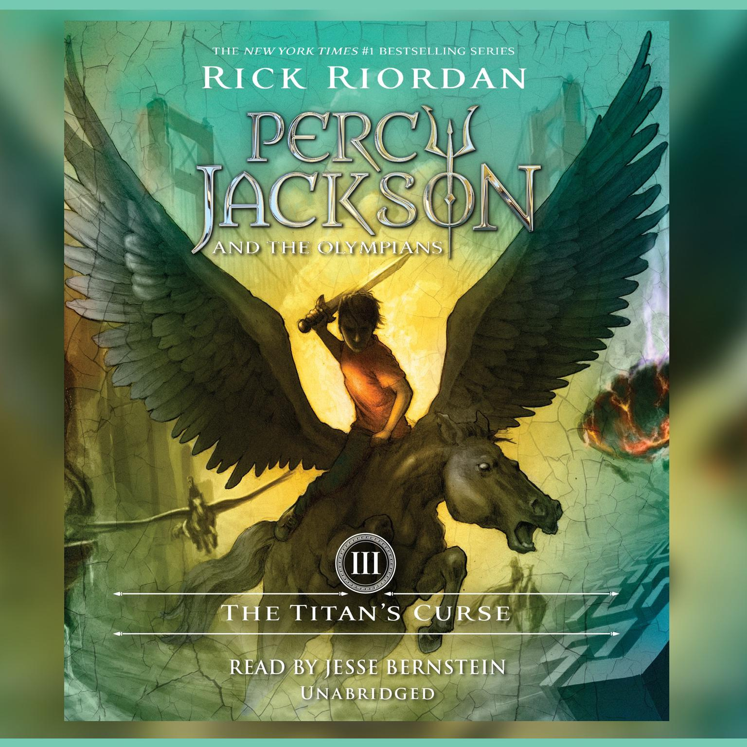 Printable The Titan's Curse: Percy Jackson and the Olympians: Book 3 Audiobook Cover Art