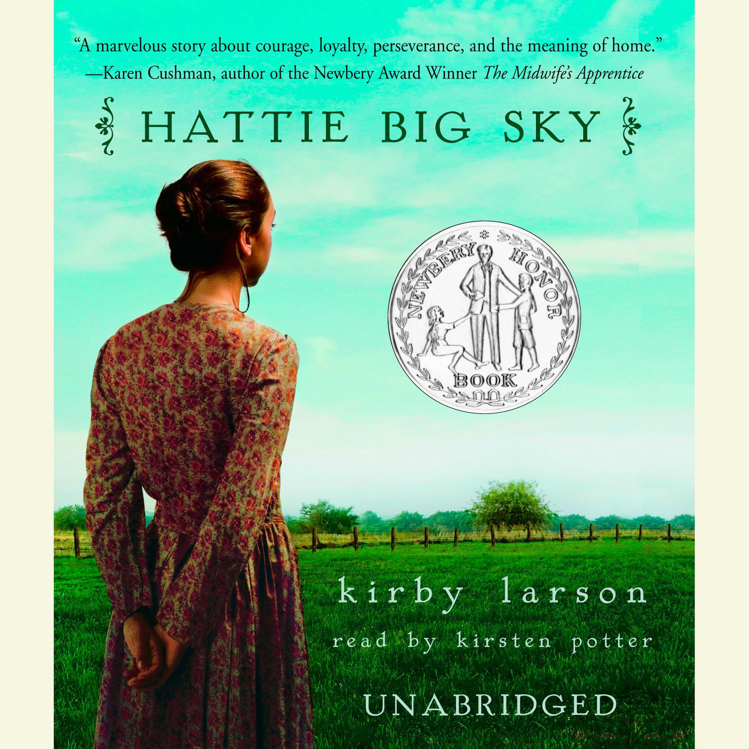 Printable Hattie Big Sky Audiobook Cover Art