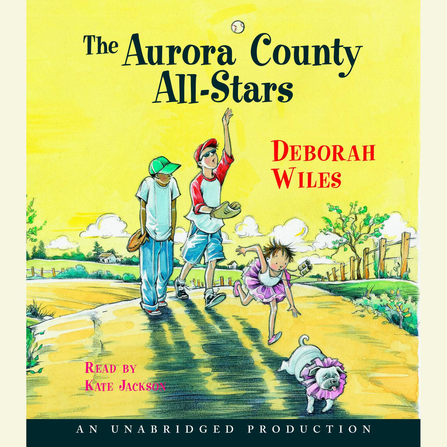 Printable Aurora County All-Stars Audiobook Cover Art