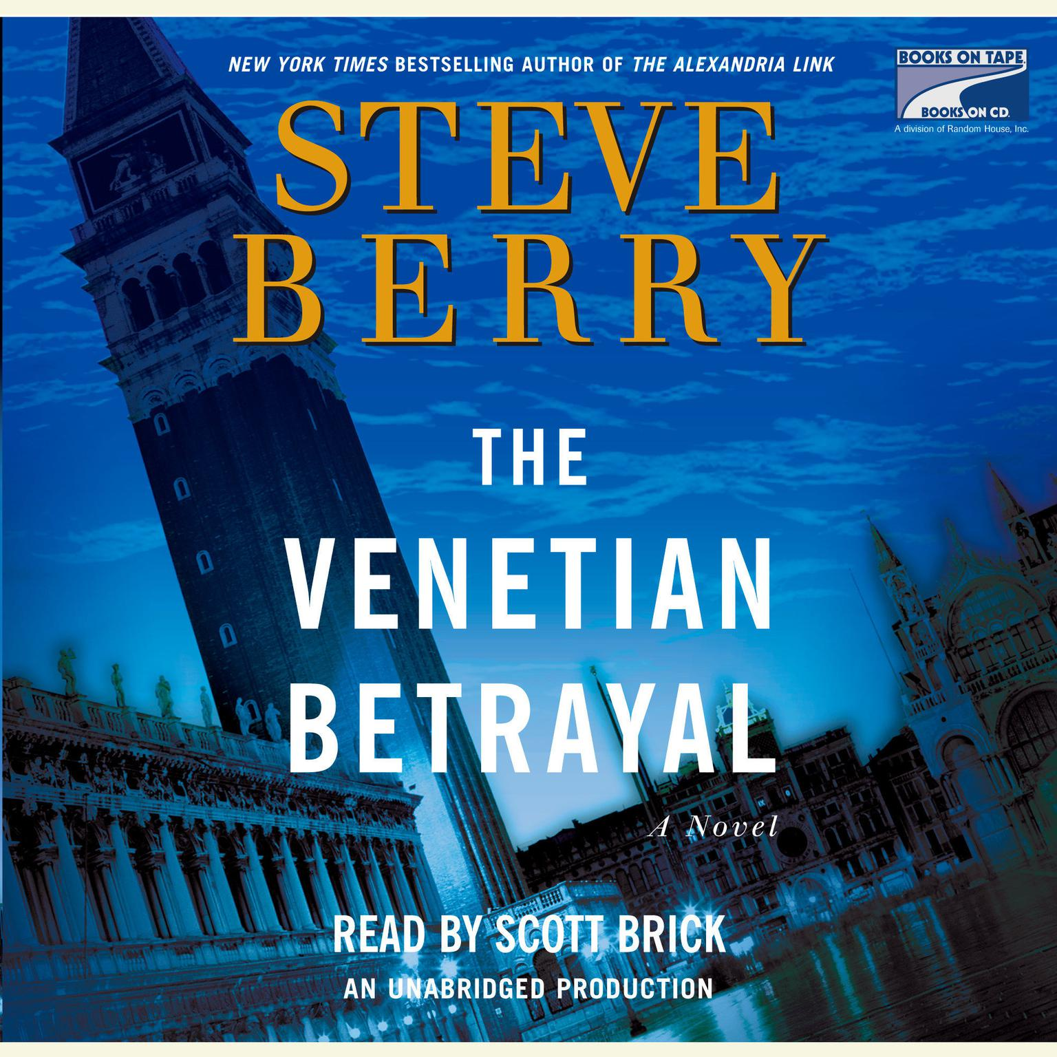 Printable The Venetian Betrayal: A Novel Audiobook Cover Art