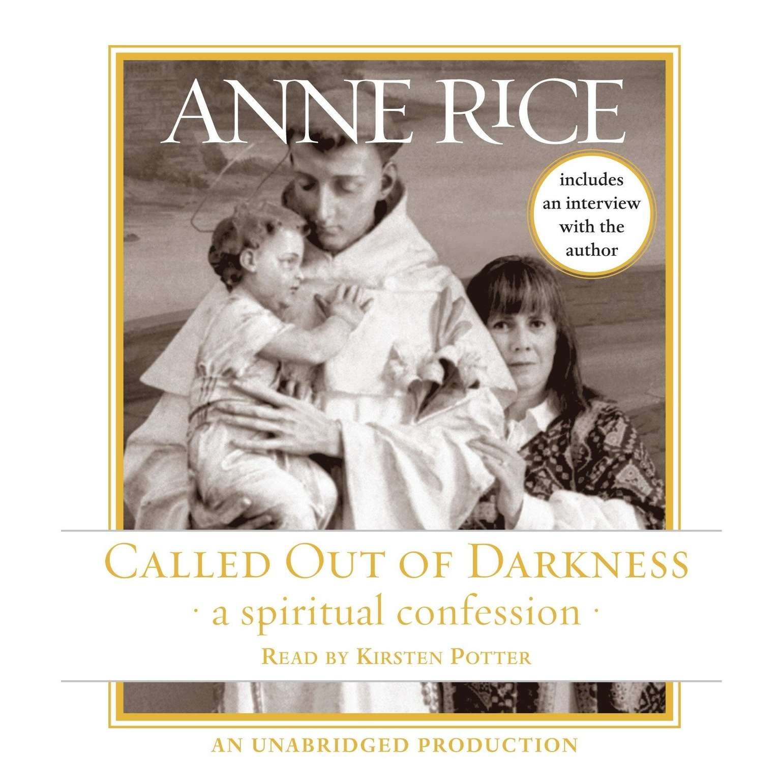 Printable Called Out of Darkness: A Spiritual Confession Audiobook Cover Art