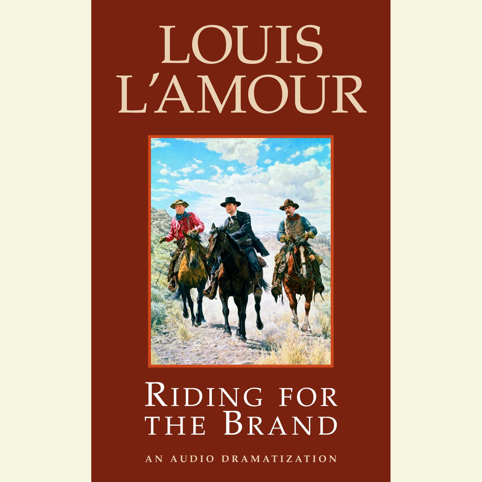 Printable Riding for the Brand Audiobook Cover Art