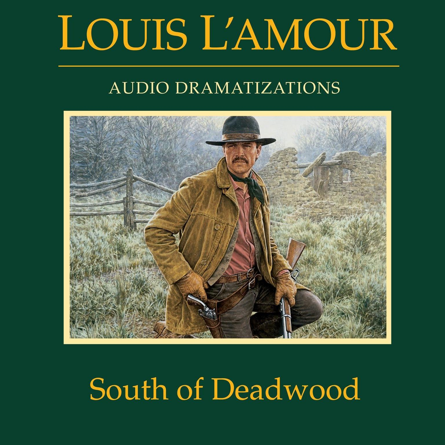 Printable South of Deadwood Audiobook Cover Art
