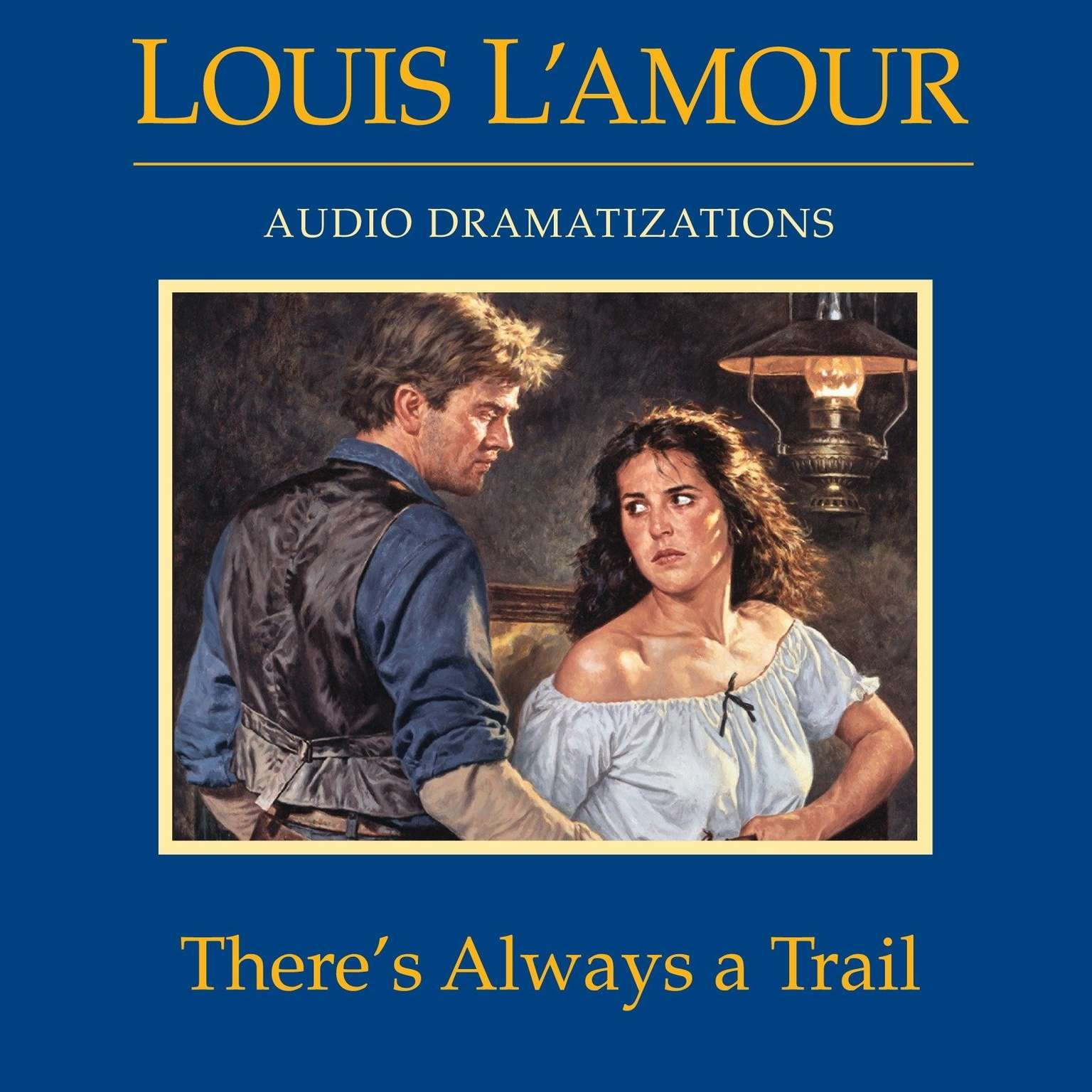 Printable There's Always a Trail Audiobook Cover Art